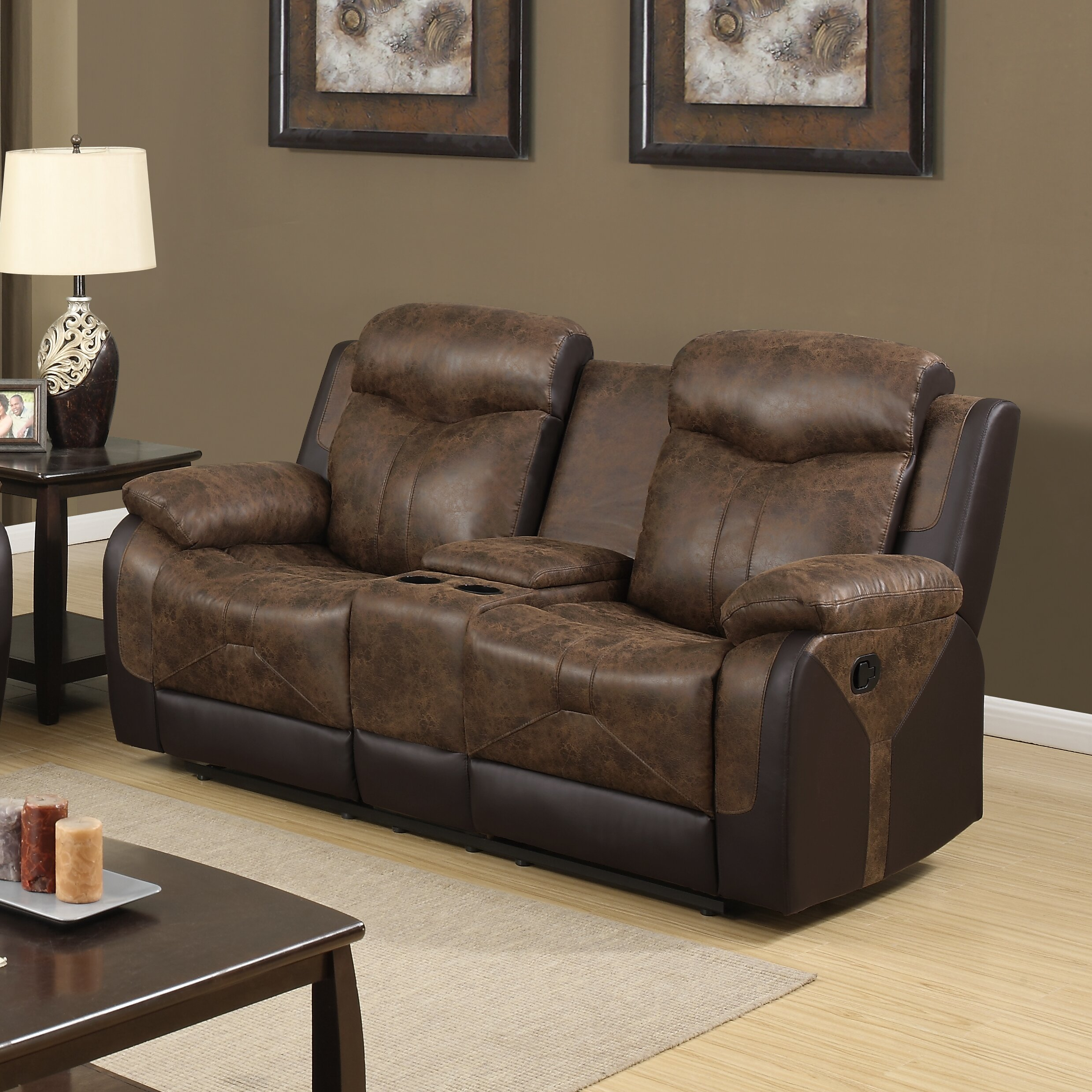 Global Furniture Usa Reclining Loveseat Wayfair