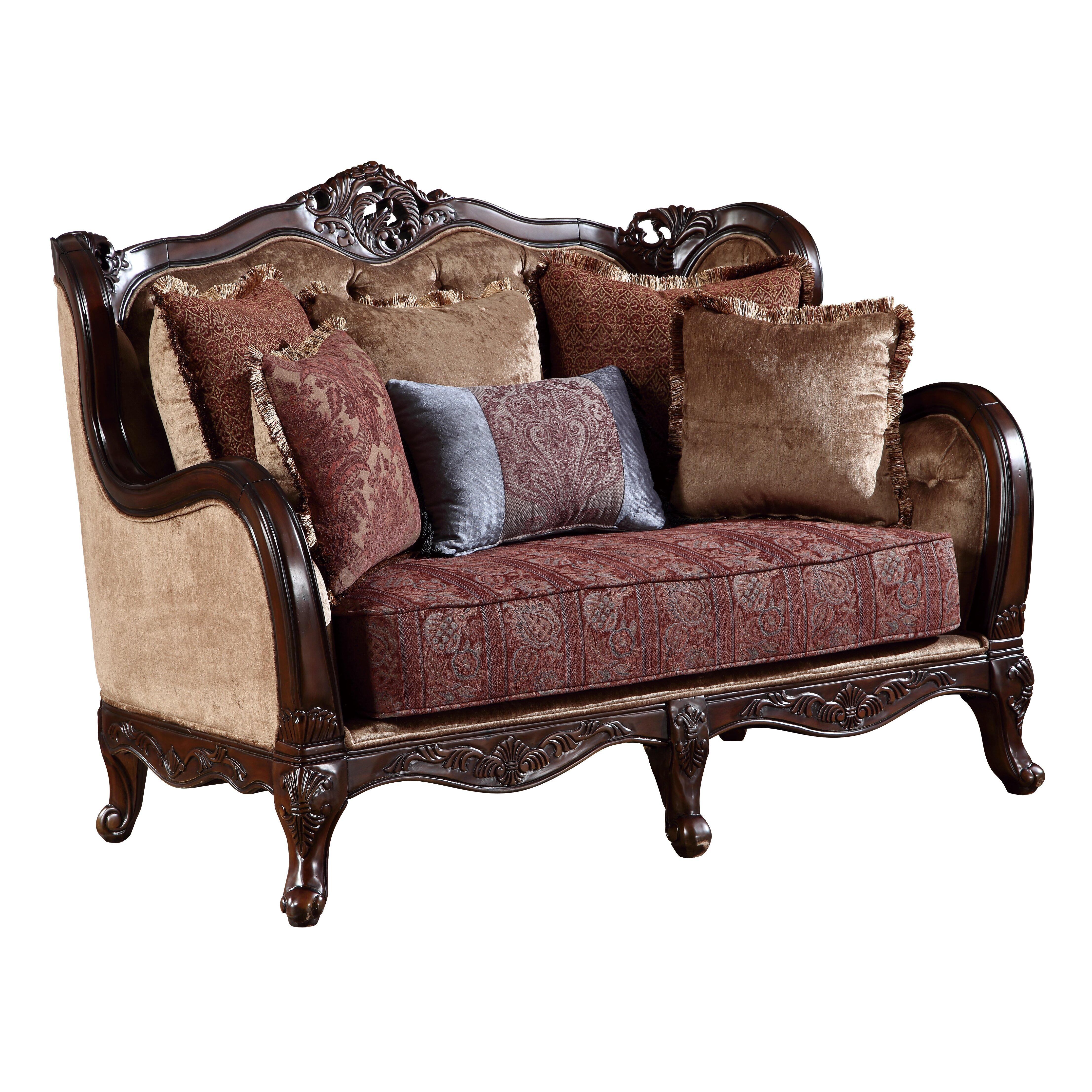 Global furniture usa loveseat wayfair for Wayfair shop furniture
