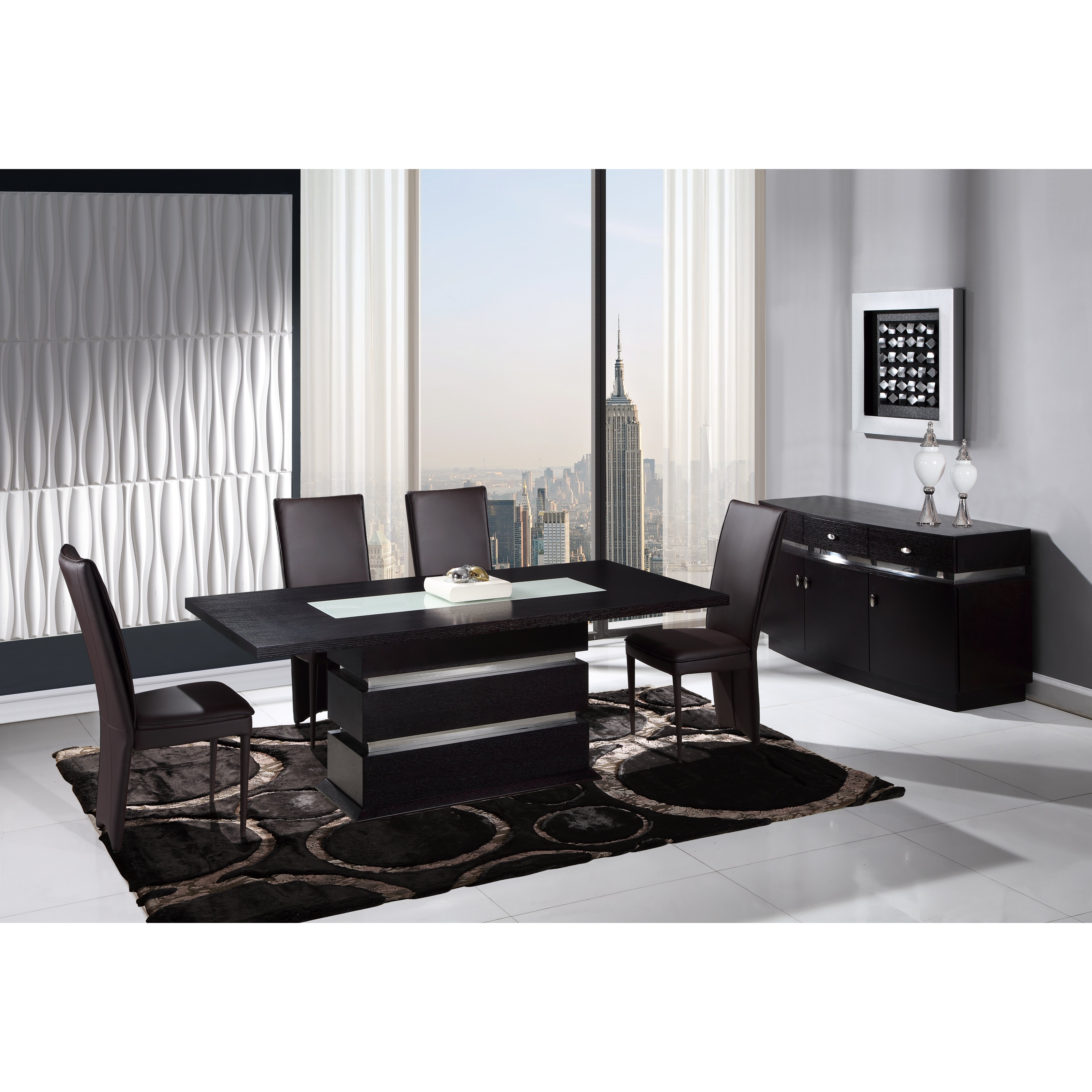 Global furniture usa extendable dining table wayfair
