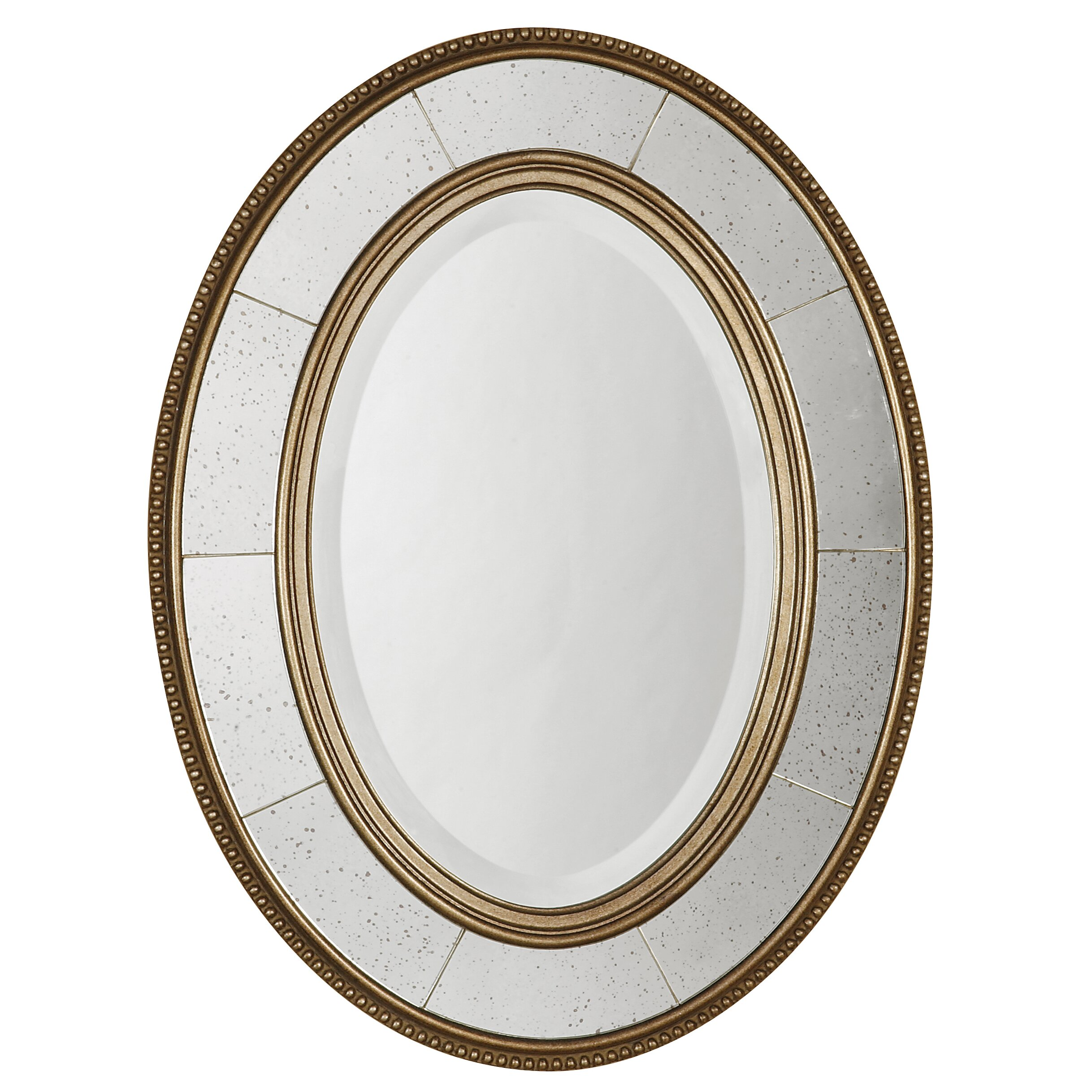 Bathroom Decor Idea Uttermost Lara Beveled Mirror Amp Reviews Wayfair