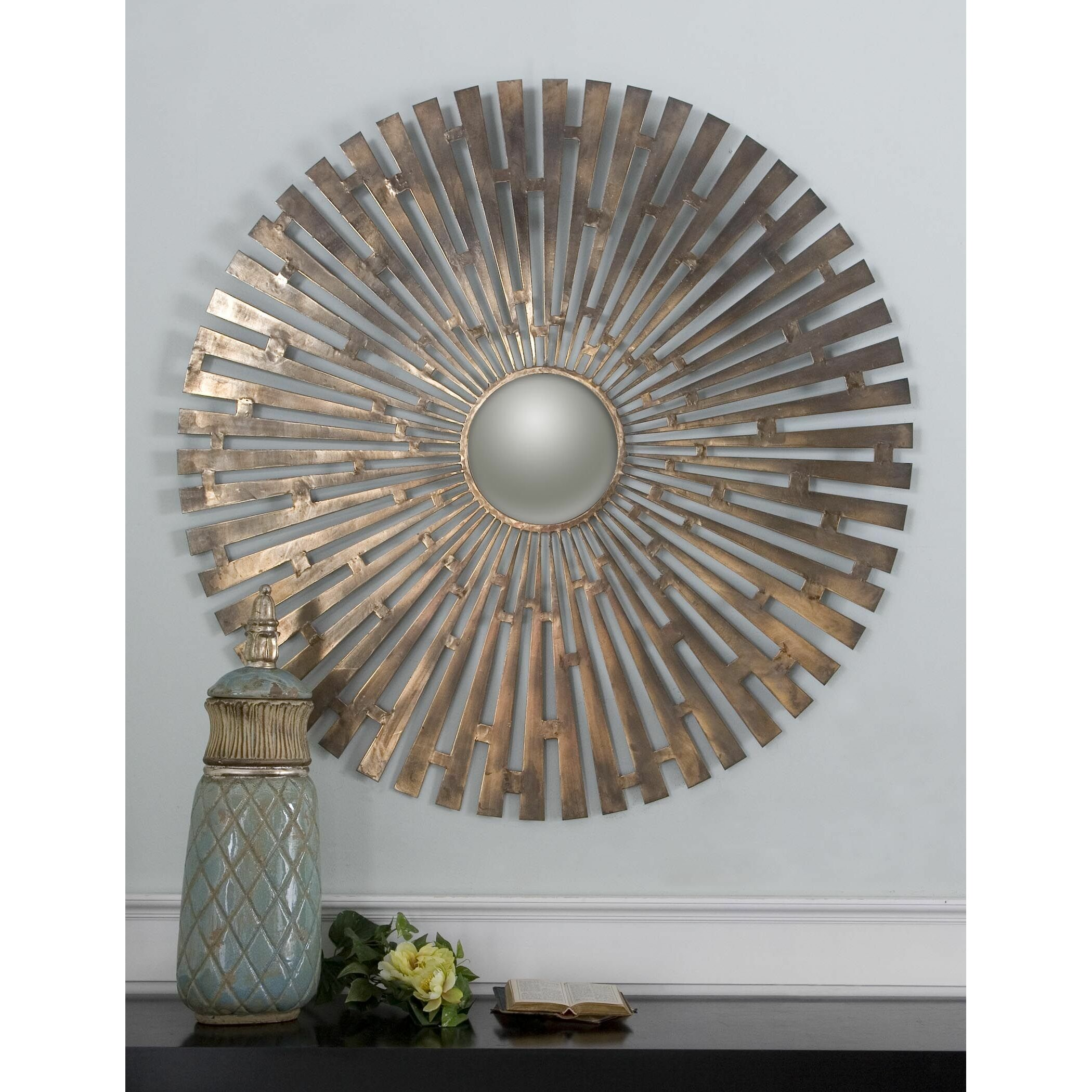 Uttermost Tremeca Starburst Wall Mirror & Reviews | Wayfair