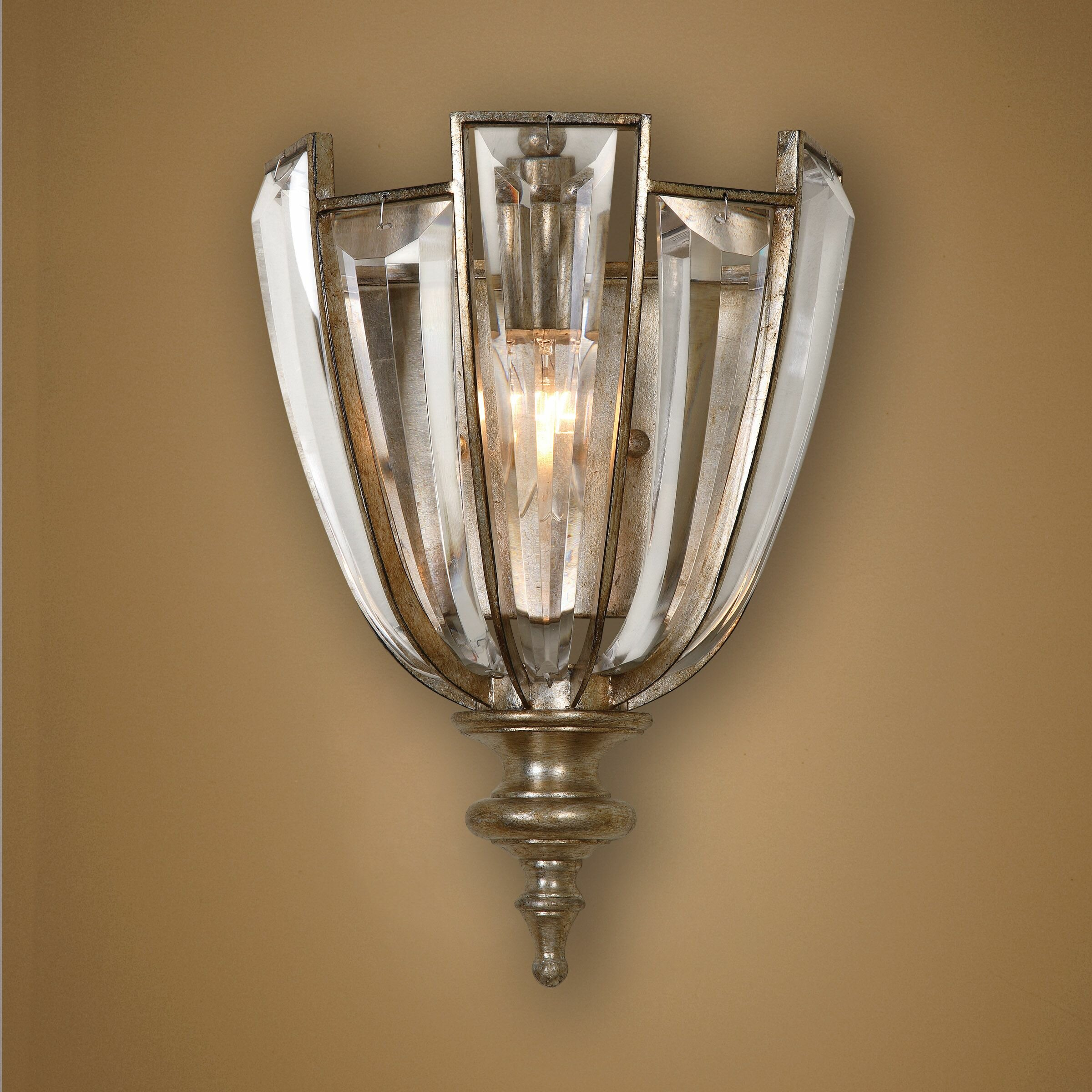 Wall Sconces At Wayfair : Uttermost Vicentina 1 Light Wall Sconce & Reviews Wayfair