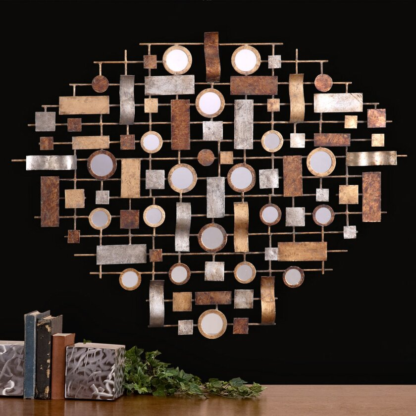 uttermost cilento collage and mirror wall d cor reviews