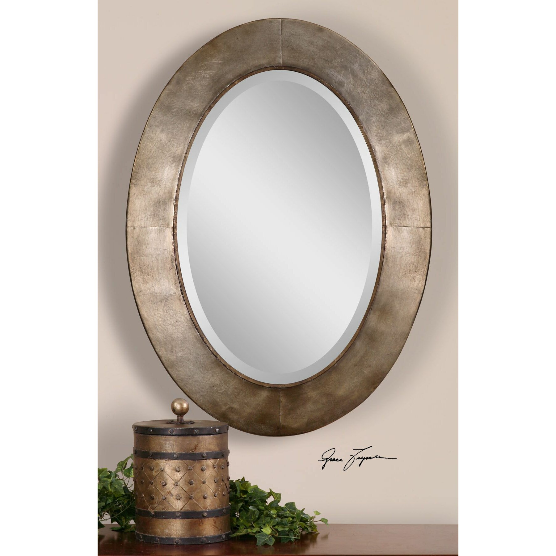 Vivian Wall Mirror By Uttermost: Uttermost Kayenta Beveled Wall Mirror & Reviews