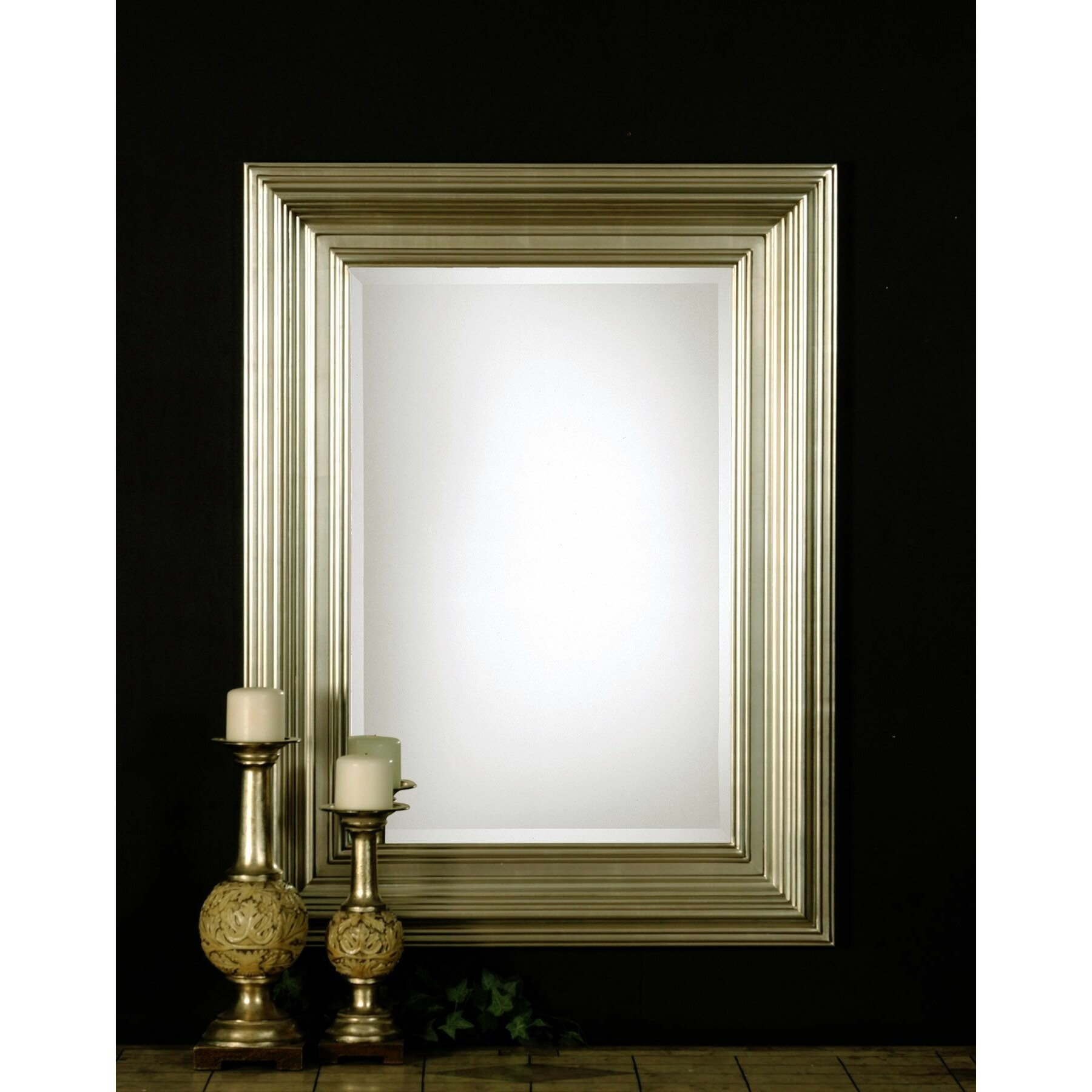 Uttermost Mario Rectangular Beveled Mirror Amp Reviews Wayfair