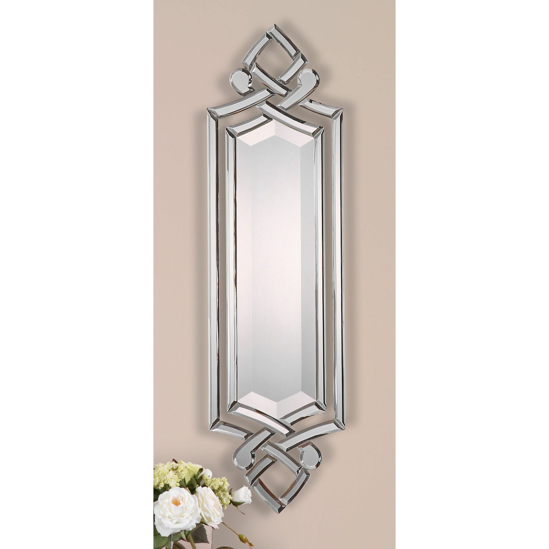 Uttermost ginosa mirror reviews wayfair for Decor mirror