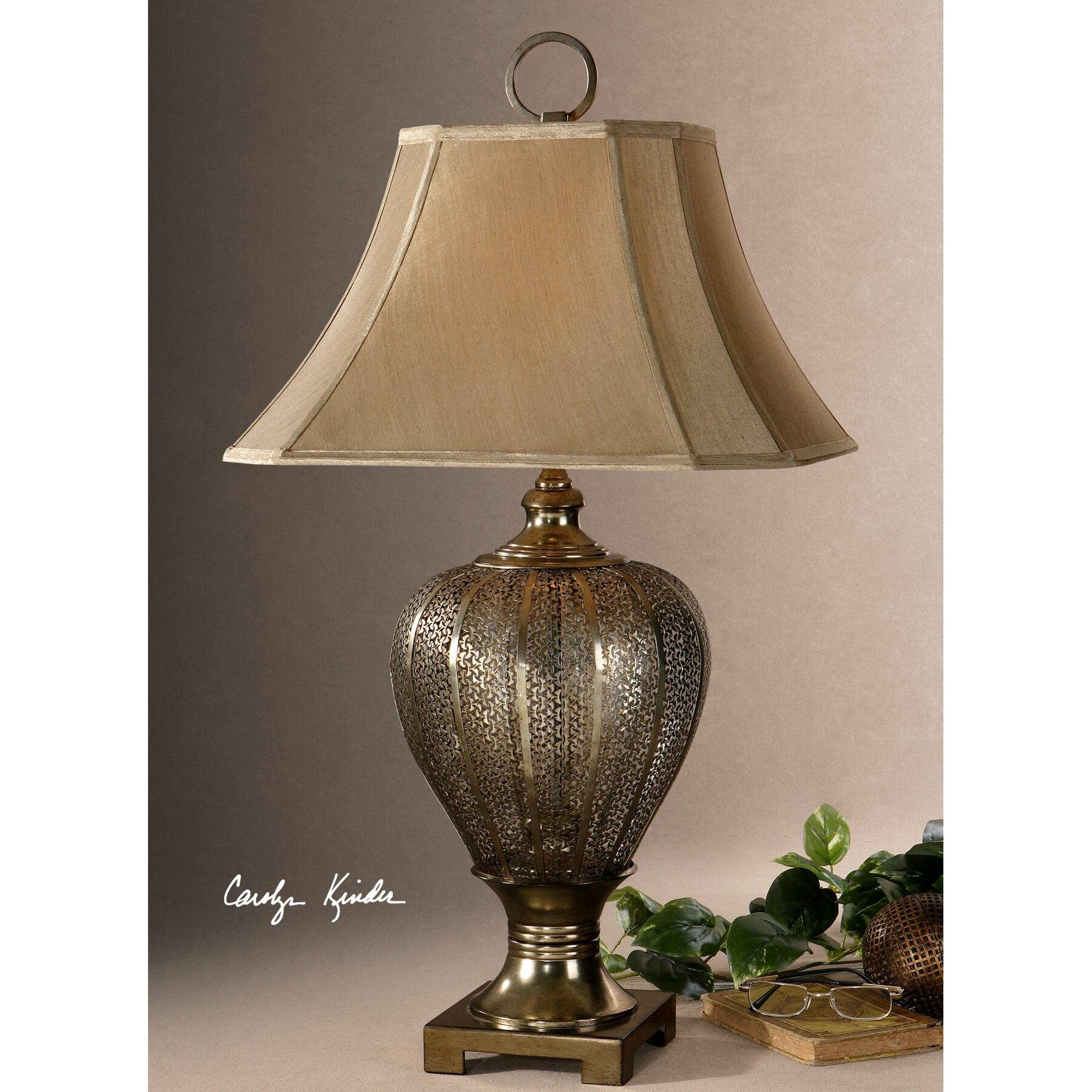 uttermost cupello 33 table lamp reviews wayfair. Black Bedroom Furniture Sets. Home Design Ideas