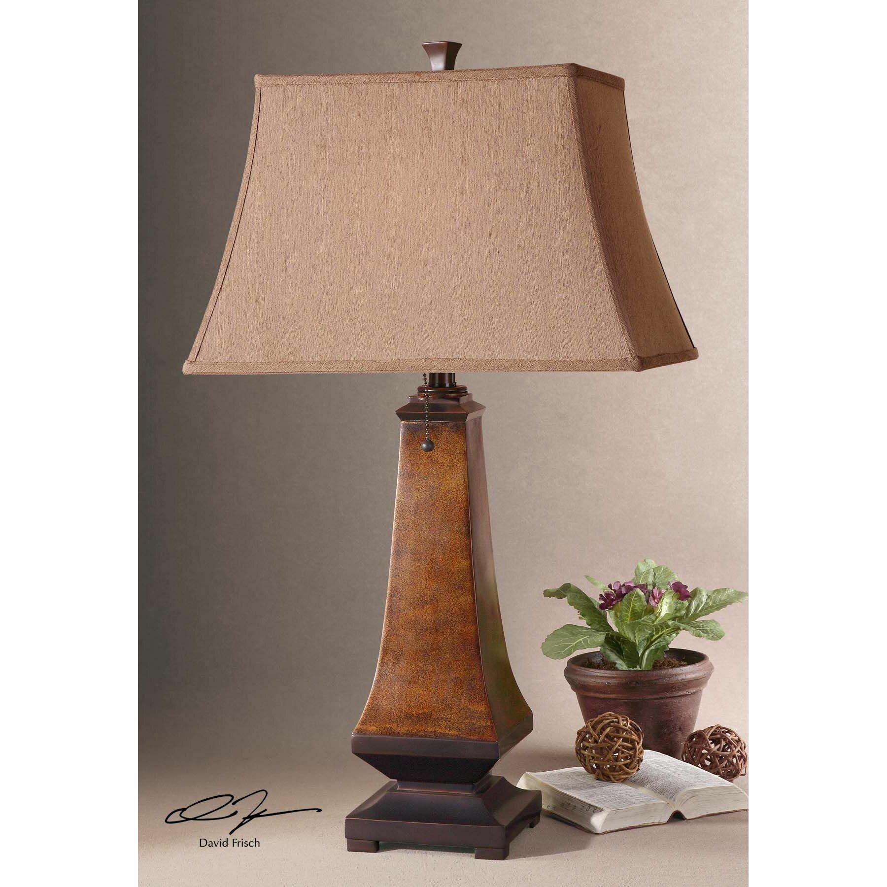 uttermost caldaro 30 table lamp reviews wayfair. Black Bedroom Furniture Sets. Home Design Ideas