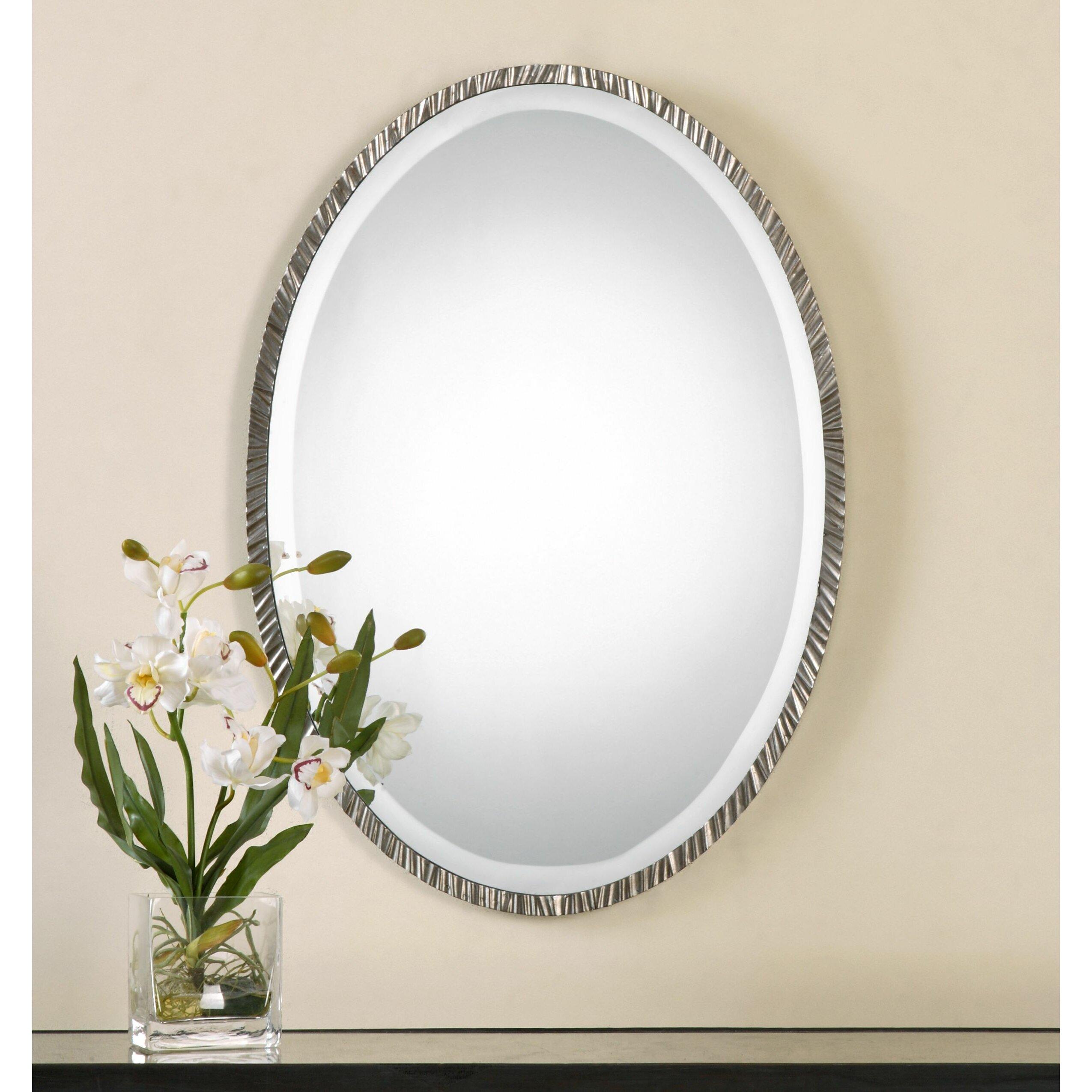 Vivian Wall Mirror By Uttermost: Uttermost Annadel Oval Wall Mirror & Reviews
