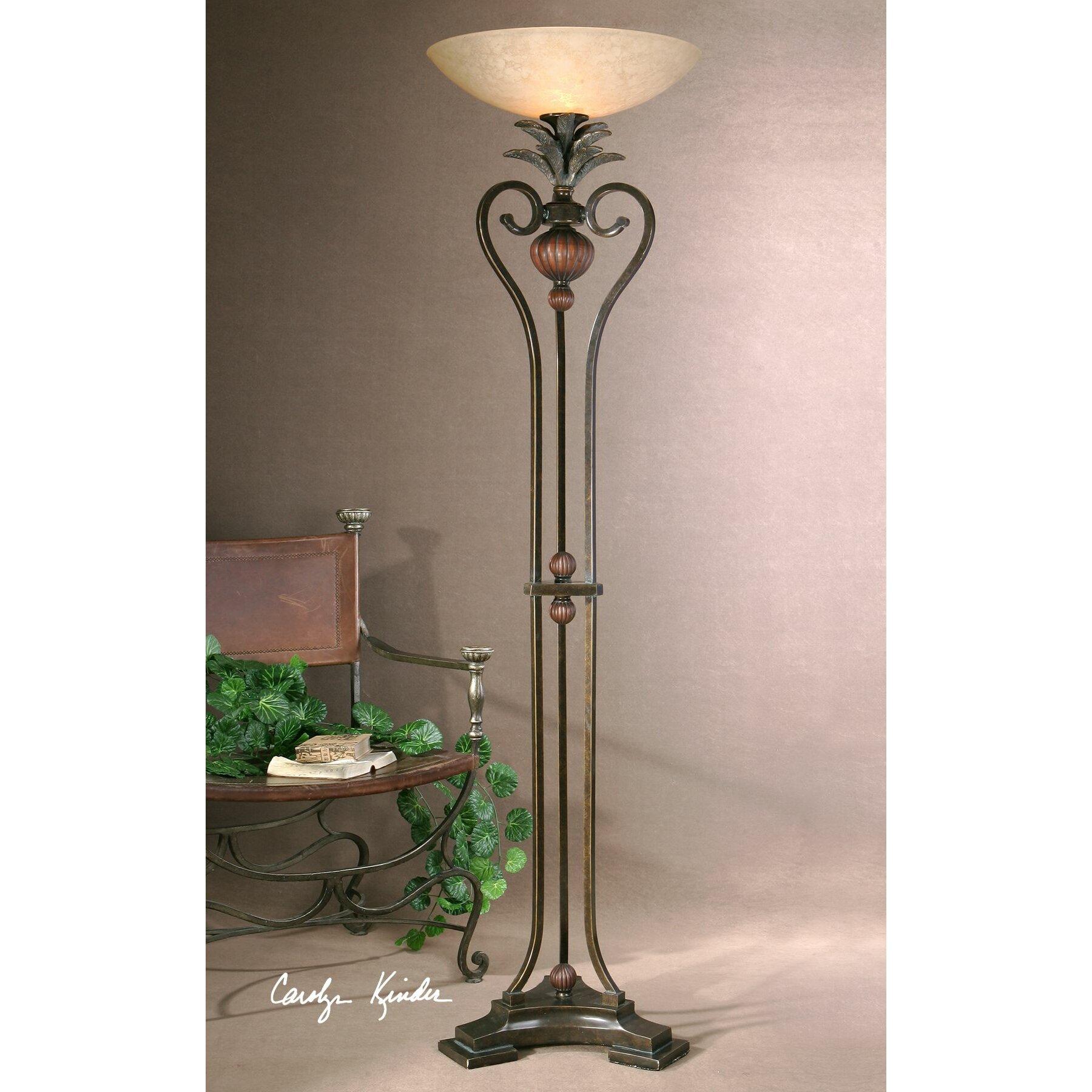 Uttermost Andra 73 Quot Torchiere Floor Lamp Amp Reviews Wayfair