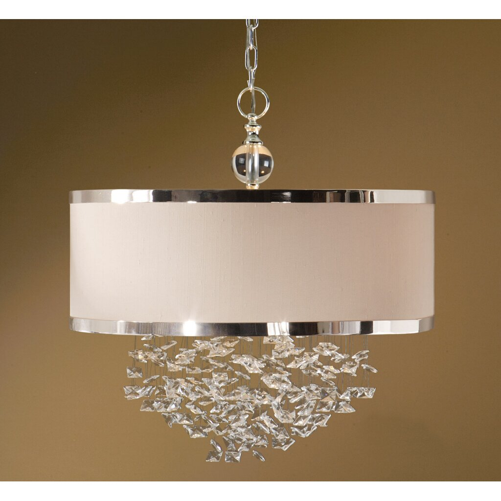 Uttermost Fascination 3 Light Hanging Foyer Pendant