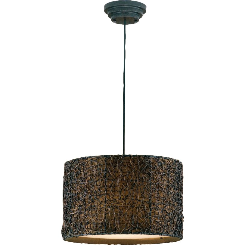 Large Foyer Drum Pendant : Uttermost light naturals hanging drum foyer pendant