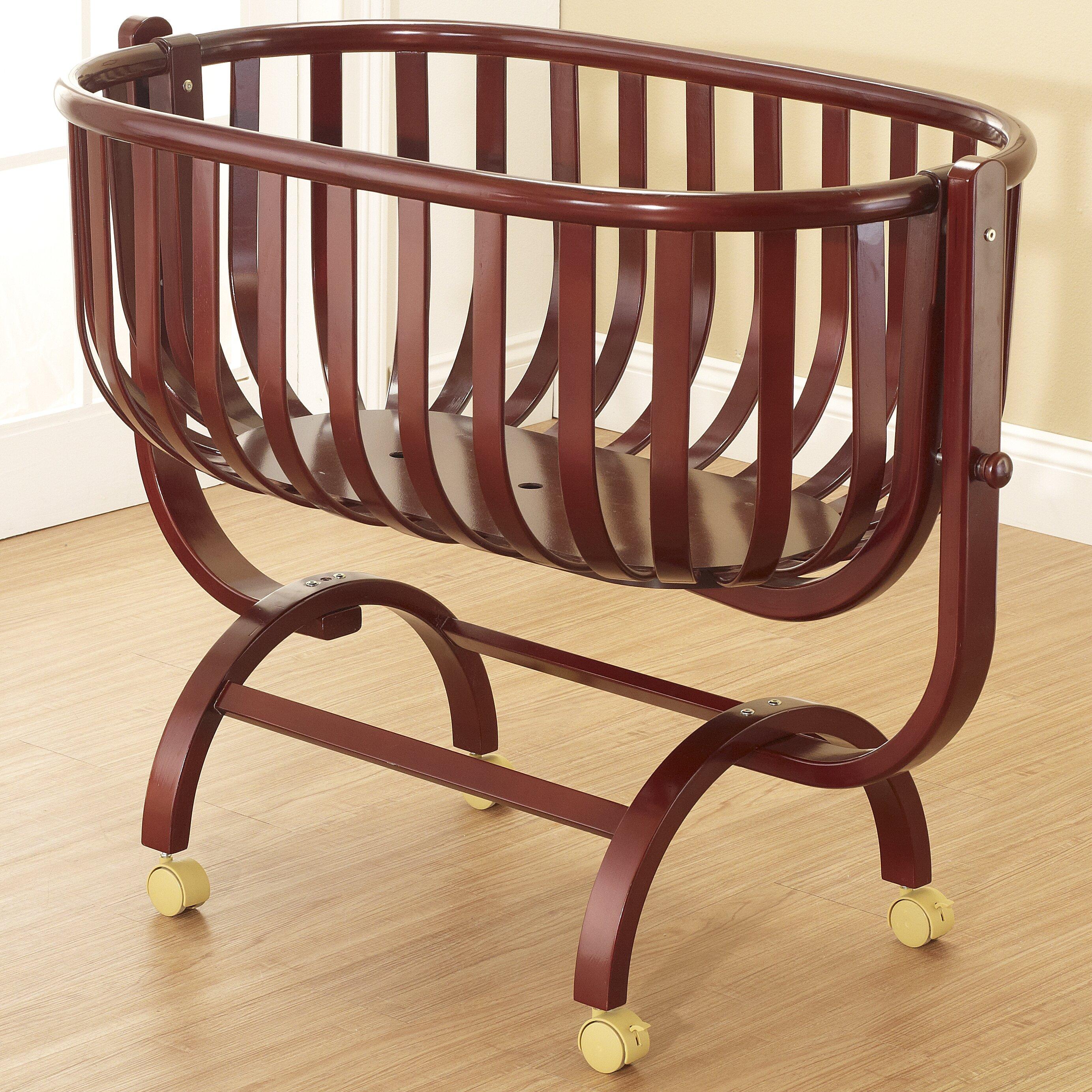orbelle gabriella cradle reviews wayfair. Black Bedroom Furniture Sets. Home Design Ideas