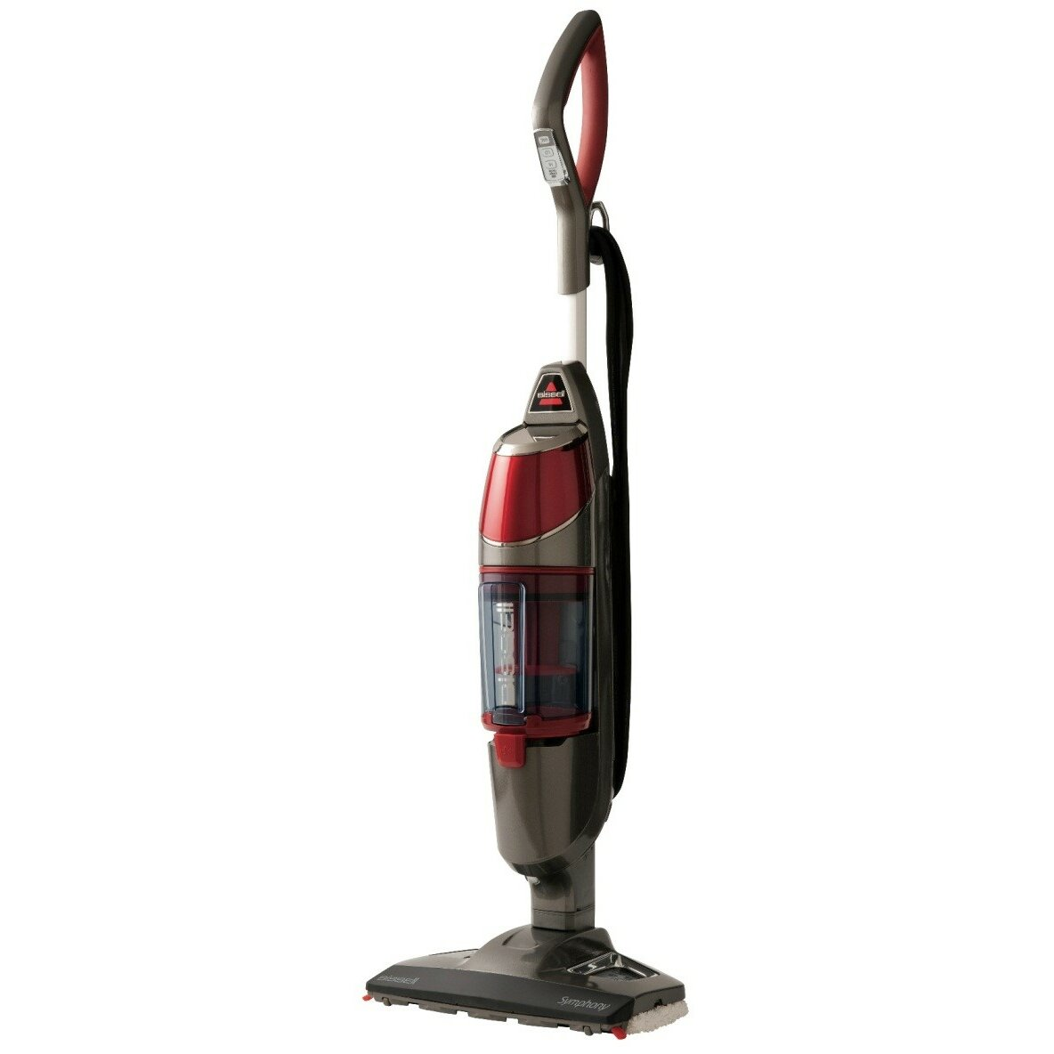 Bissell symphony all in one vacuum and steam mop reviews for Steam mop 17 in 1