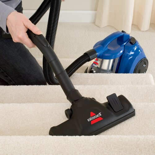 bissell zing bagless canister vacuum cleaner reviews