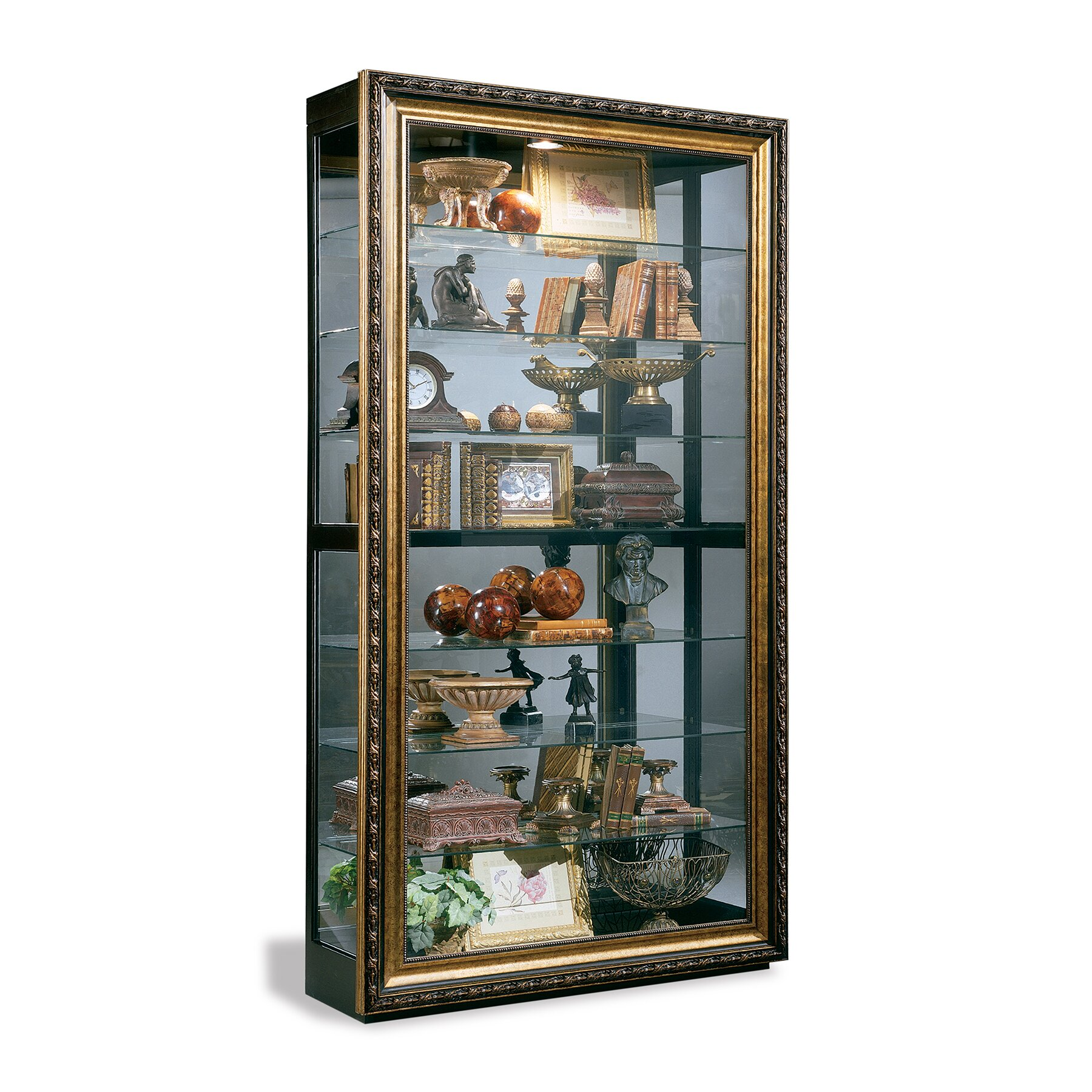 Philip Reinisch Co Renoir Museum Curio Cabinet Amp Reviews