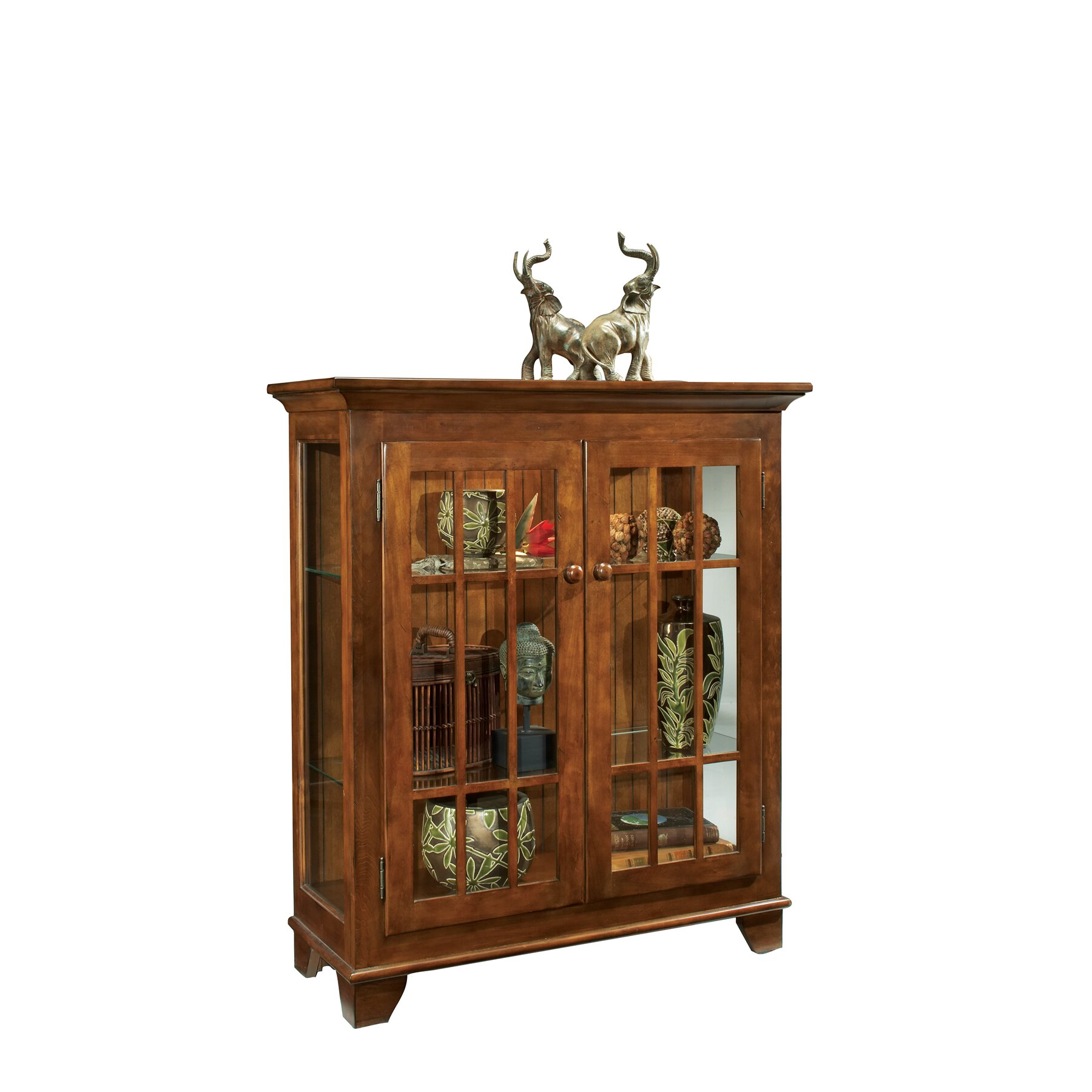 Philip Reinisch Co ColorTime Barlow Curio Cabinet
