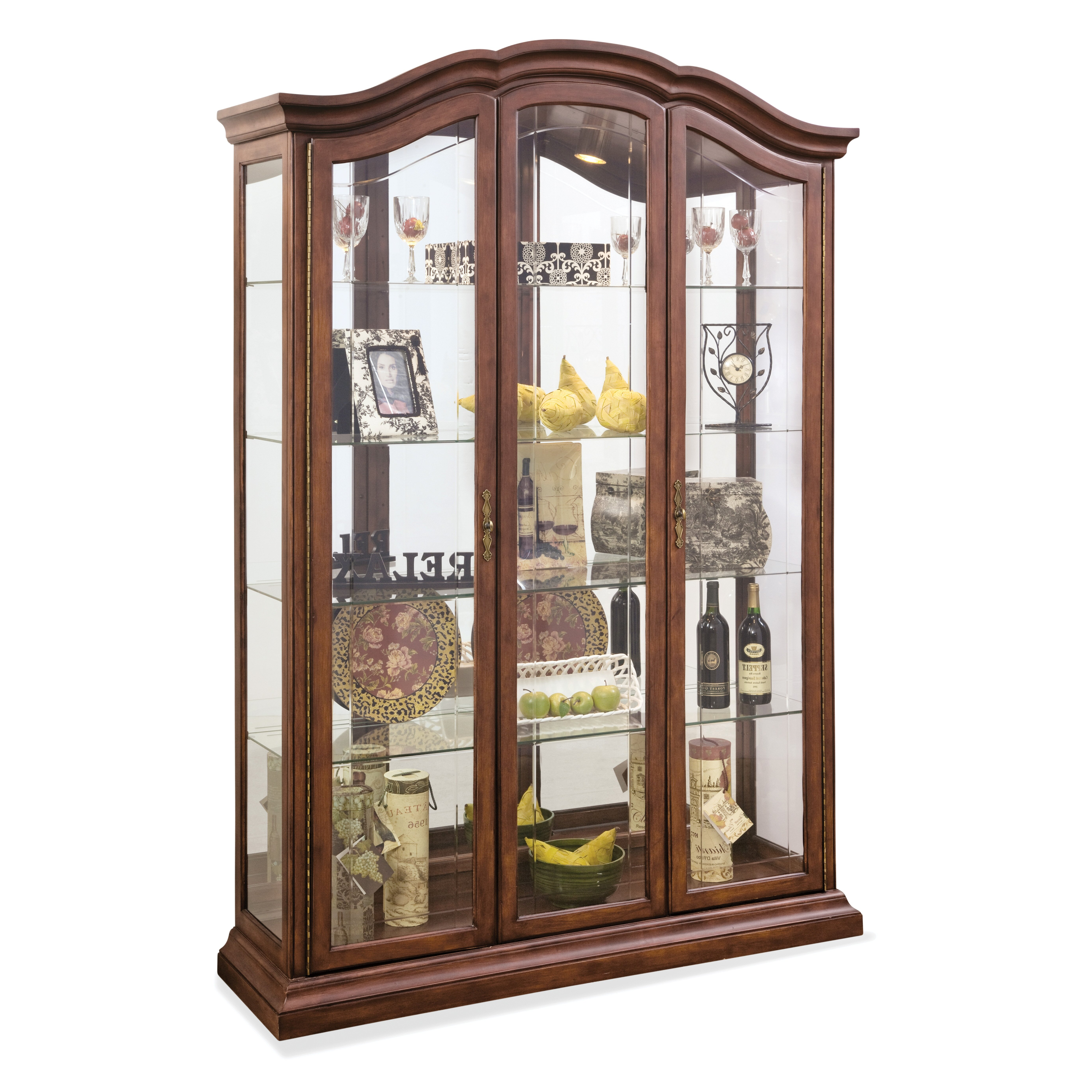 Philip Reinisch Co Oxford Curio Cabinet Amp Reviews Wayfair