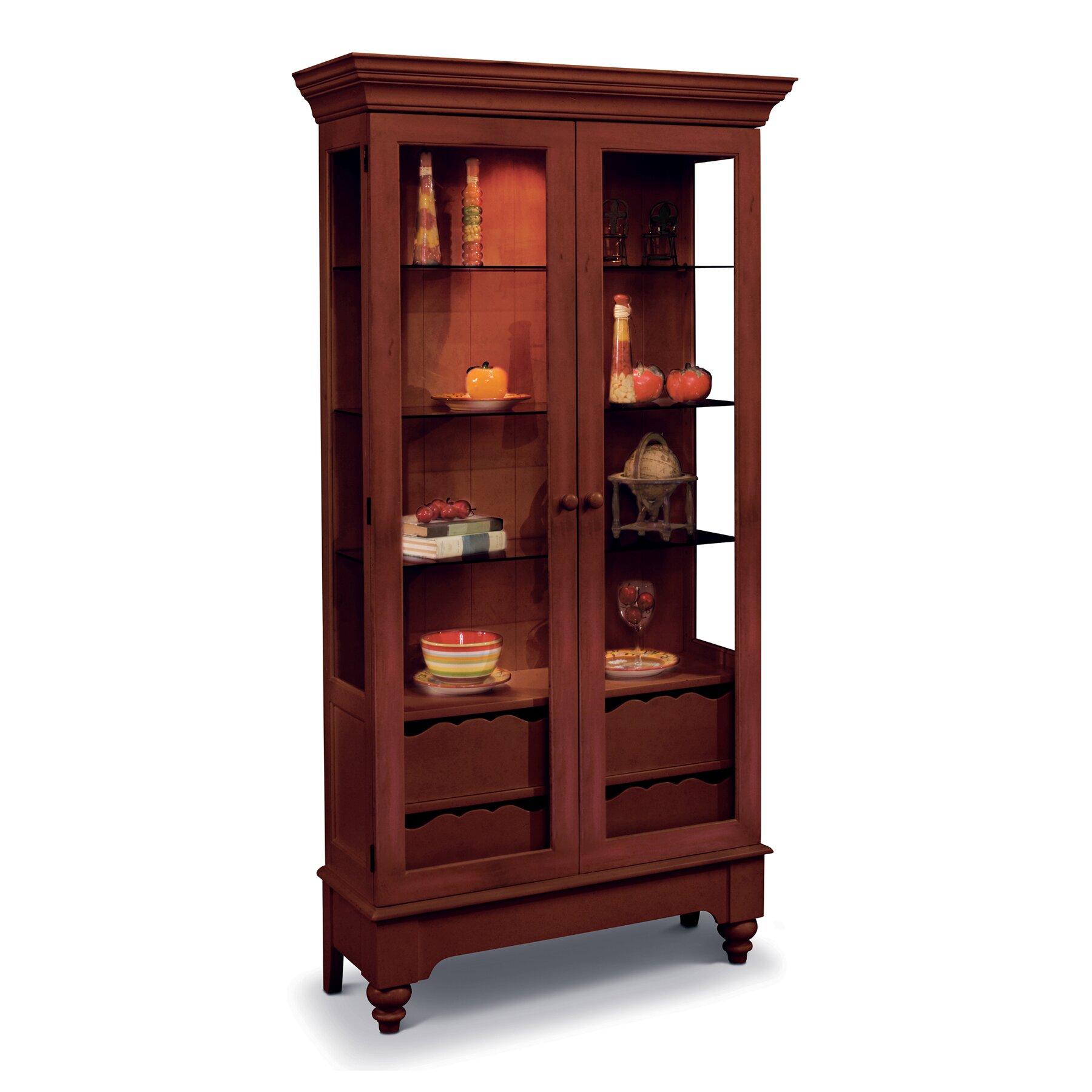 Philip Reinisch Co Colortime Summerville Curio Cabinet