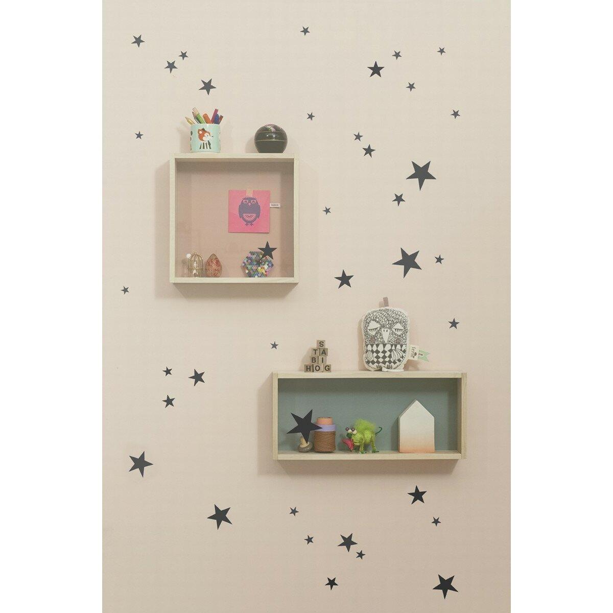 ferm living mini stars wall decal reviews wayfair. Black Bedroom Furniture Sets. Home Design Ideas