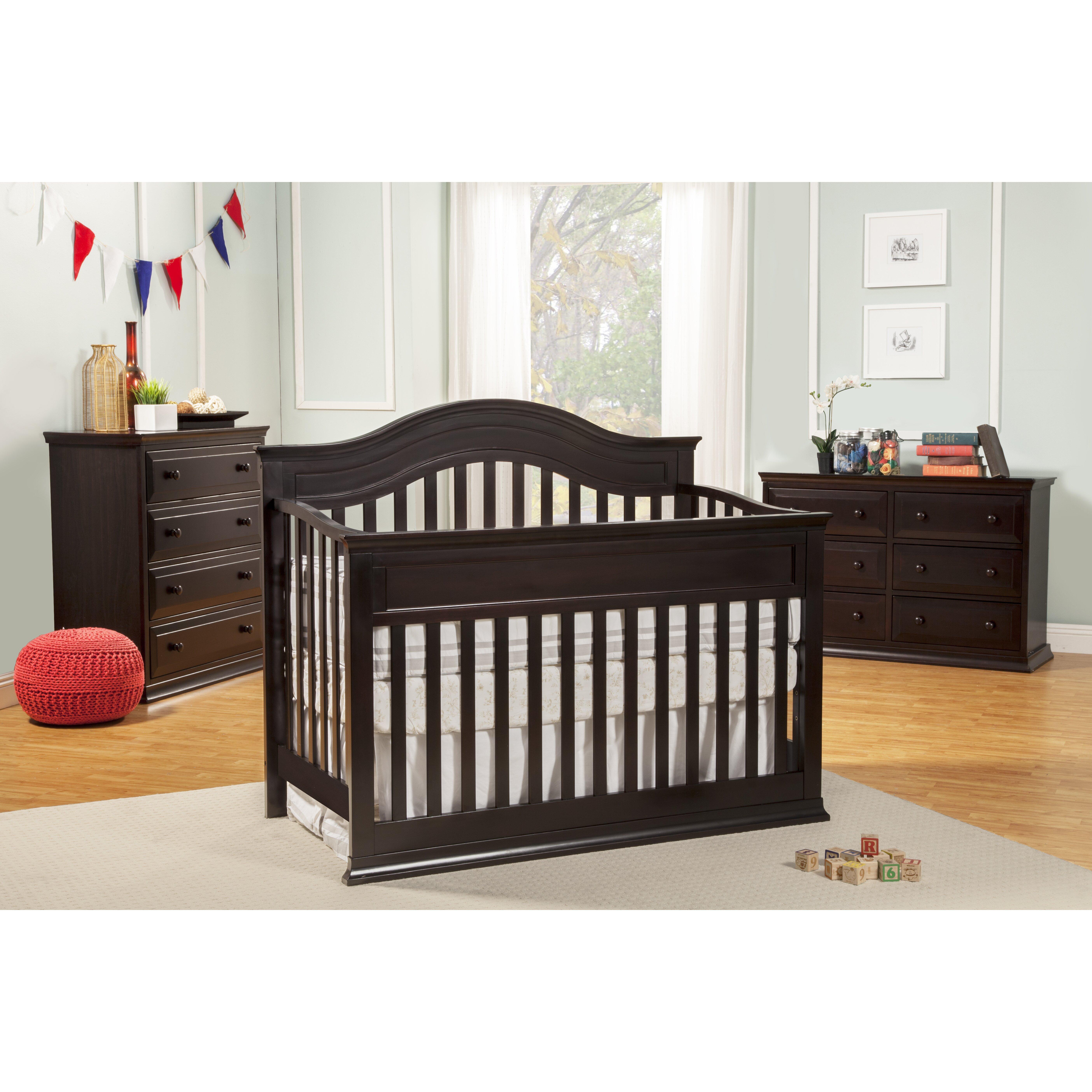 DaVinci Brook 4-in-1 Convertible Crib & Reviews