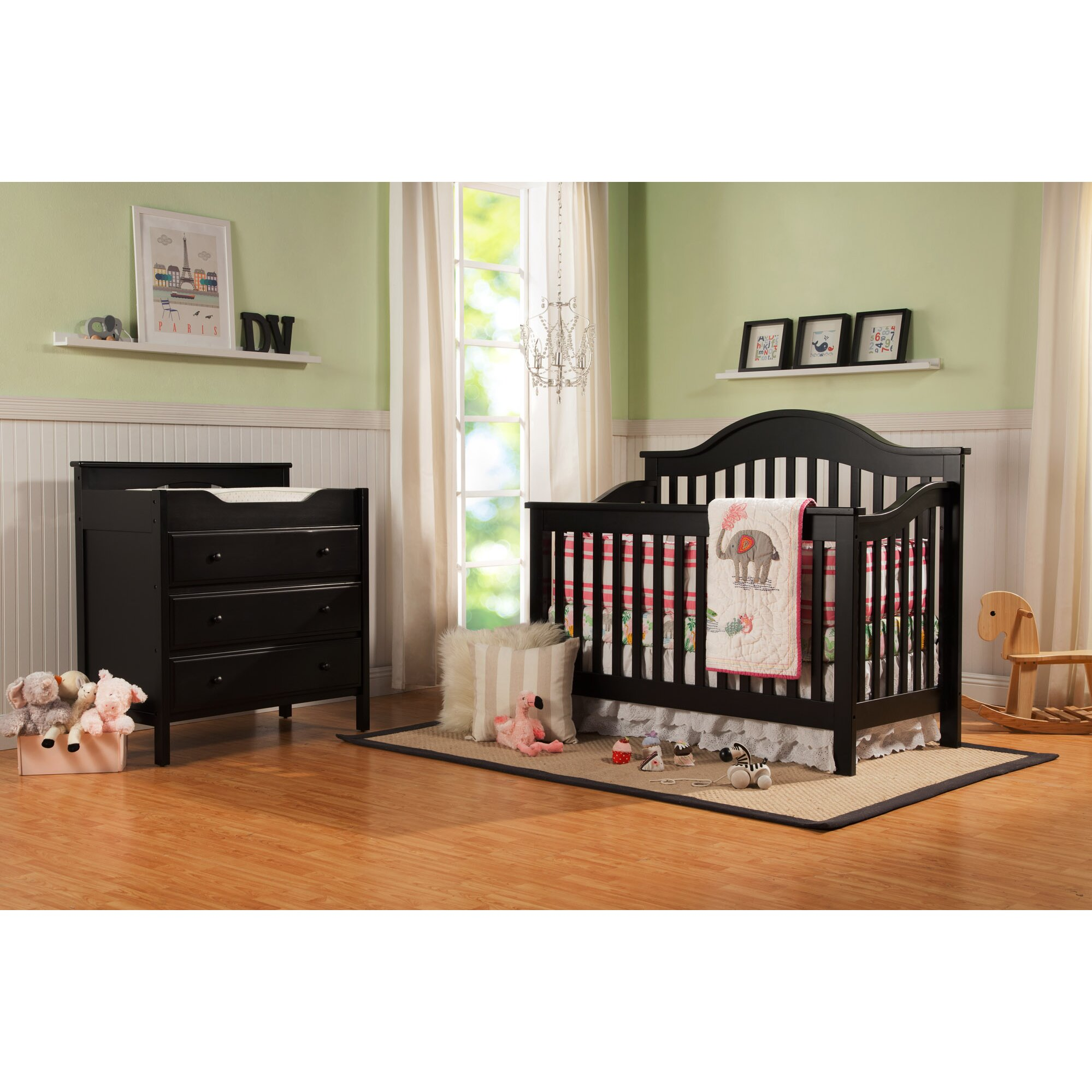 DaVinci Jayden 4-in-1 Convertible Crib & Reviews