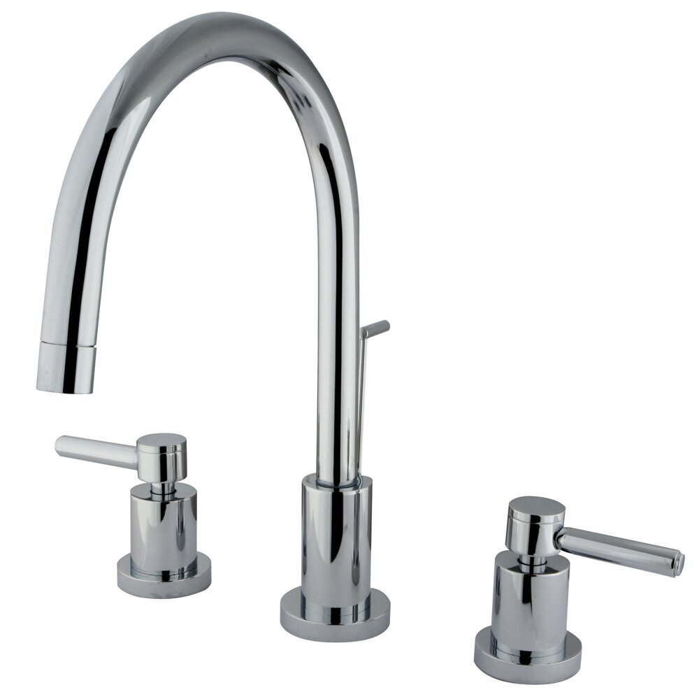 Elements Of Design Concord Double Handle Single Hole Widespread Bathroom Faucet Reviews