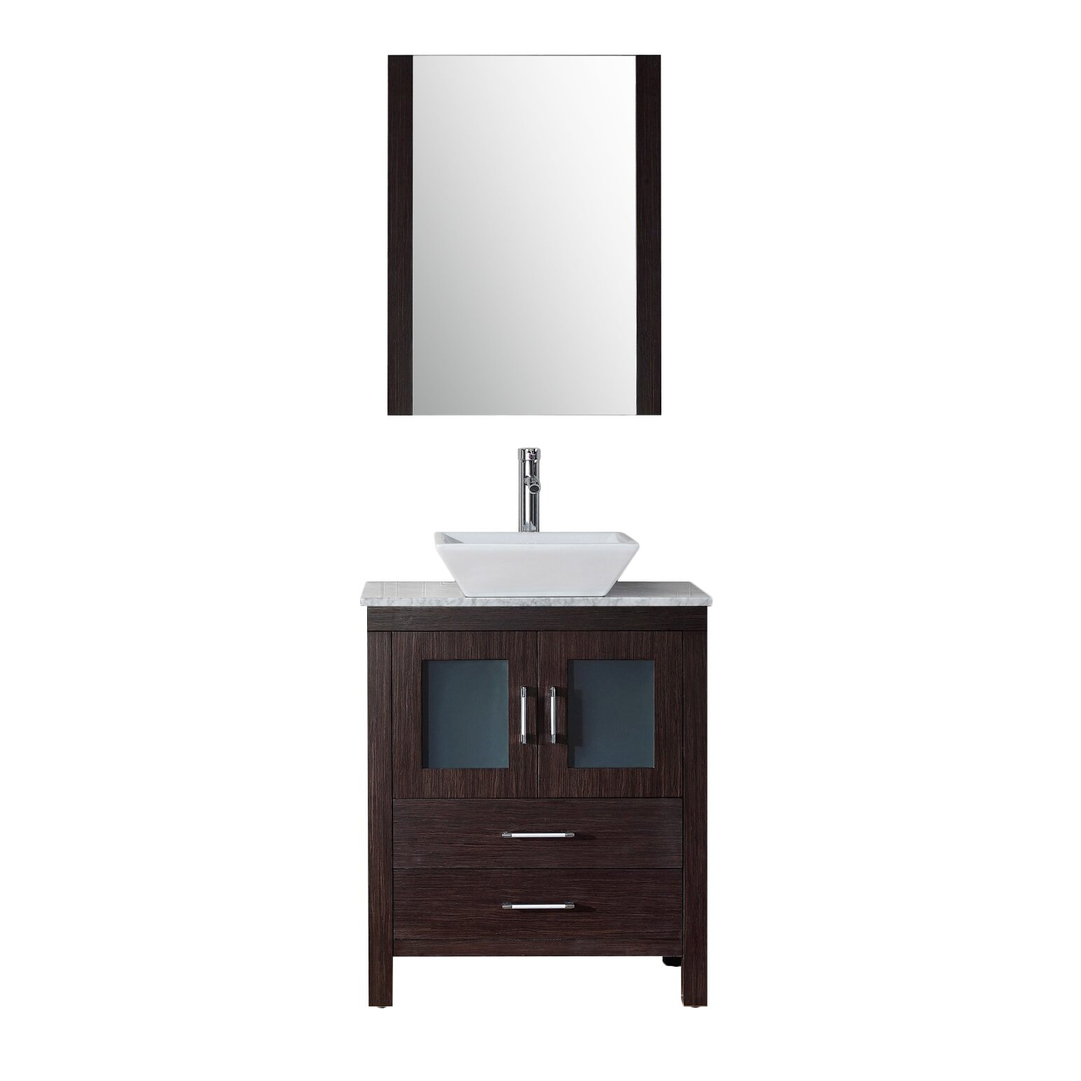 virtu 28 4 quot single bathroom vanity set with white