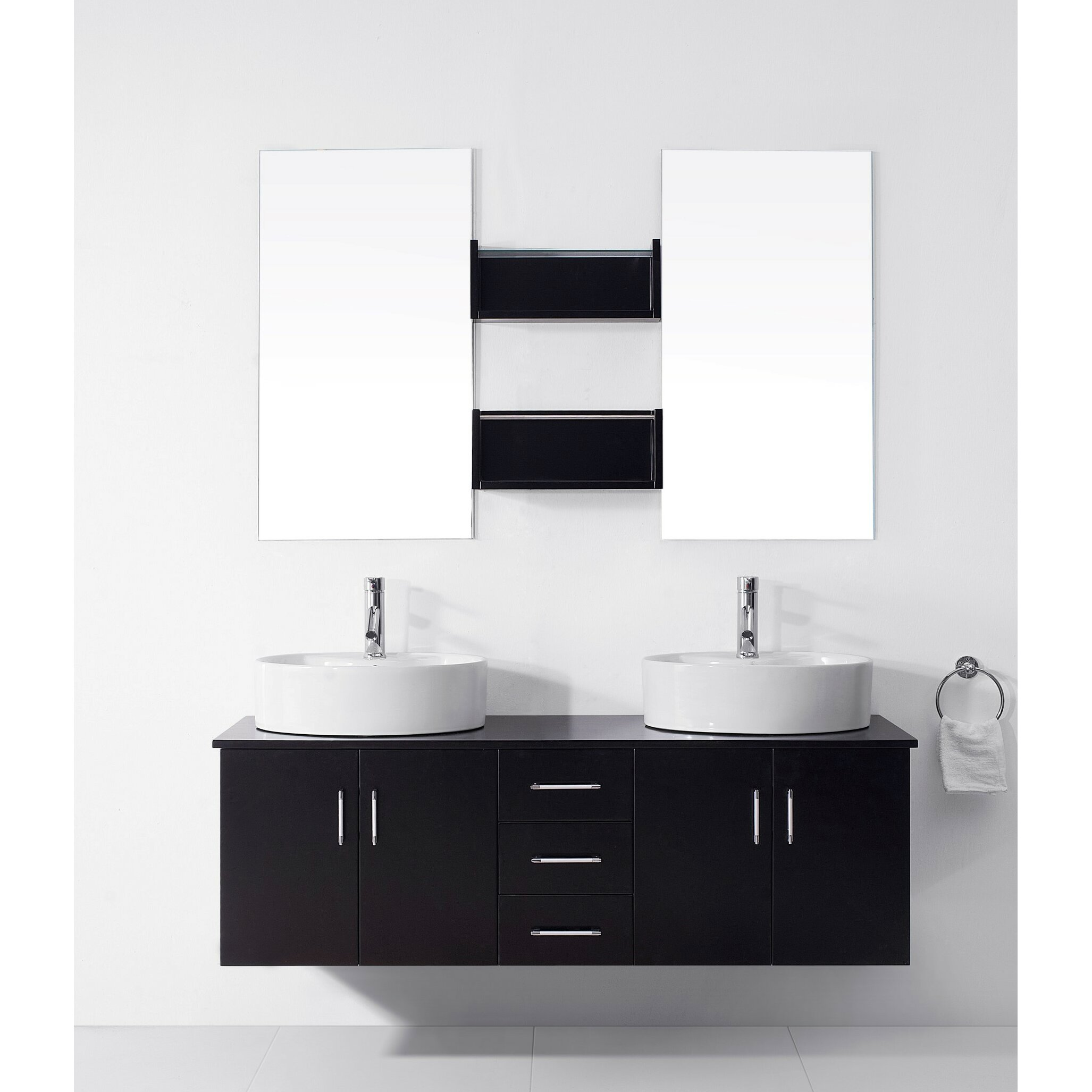 Elegant Italian Bathroom Brand Fir Italia Introduces A New Way To Shower With These Ultra Modern Bathroom Ideas This Shower  Of Bathrooms Suites  Contemporary White Vanities And Countertops Complemented By Illuminated Mirrors, Ceiling