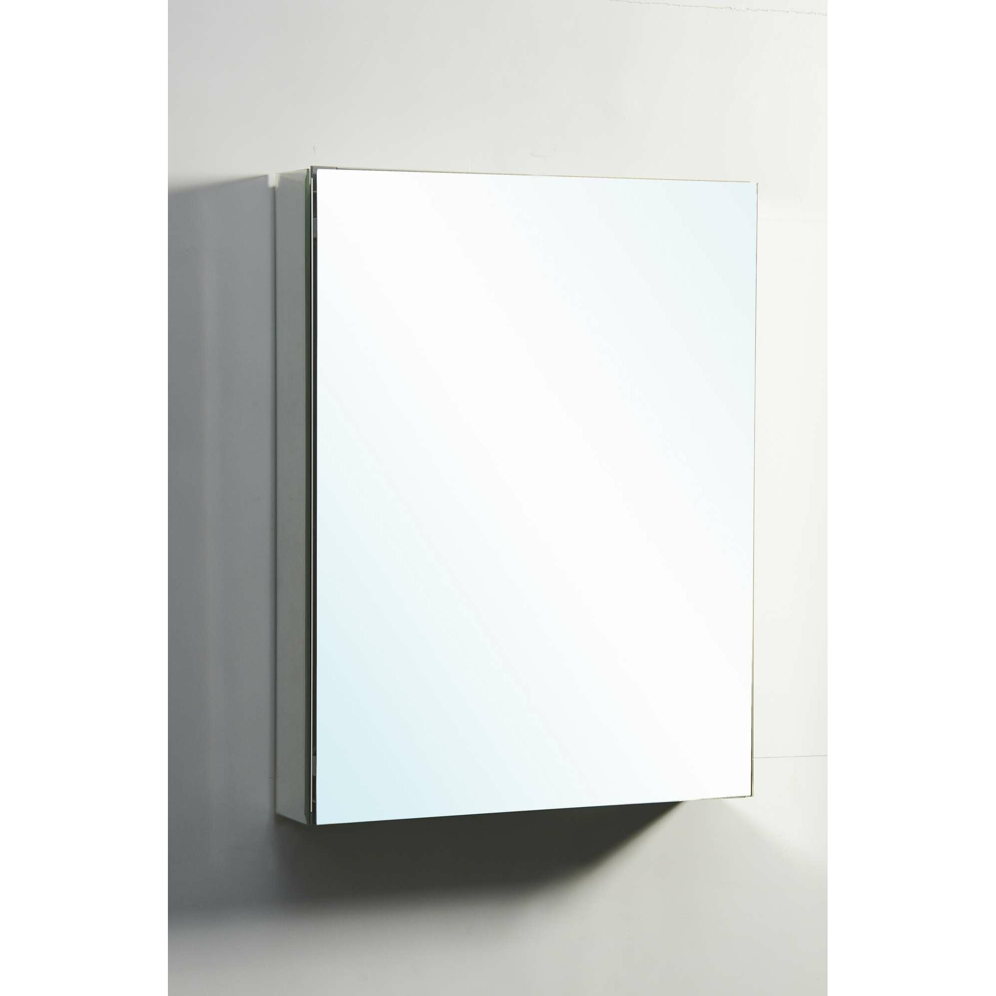 Virtu Confidant 26 Quot X 20 Quot Recessed Or Surface Mount