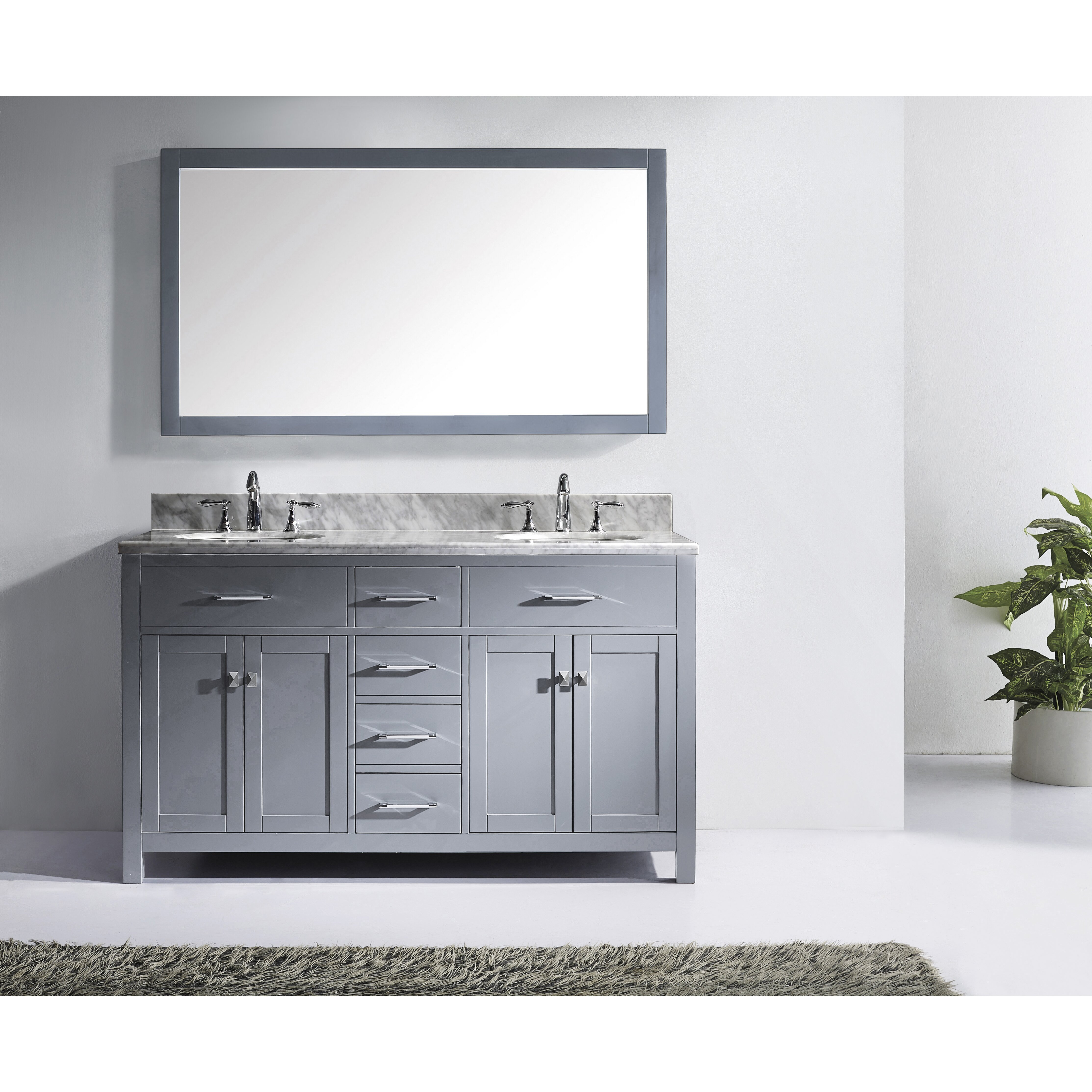 bathroom com double fayer white carrara with moreno onsingularity vanity sink