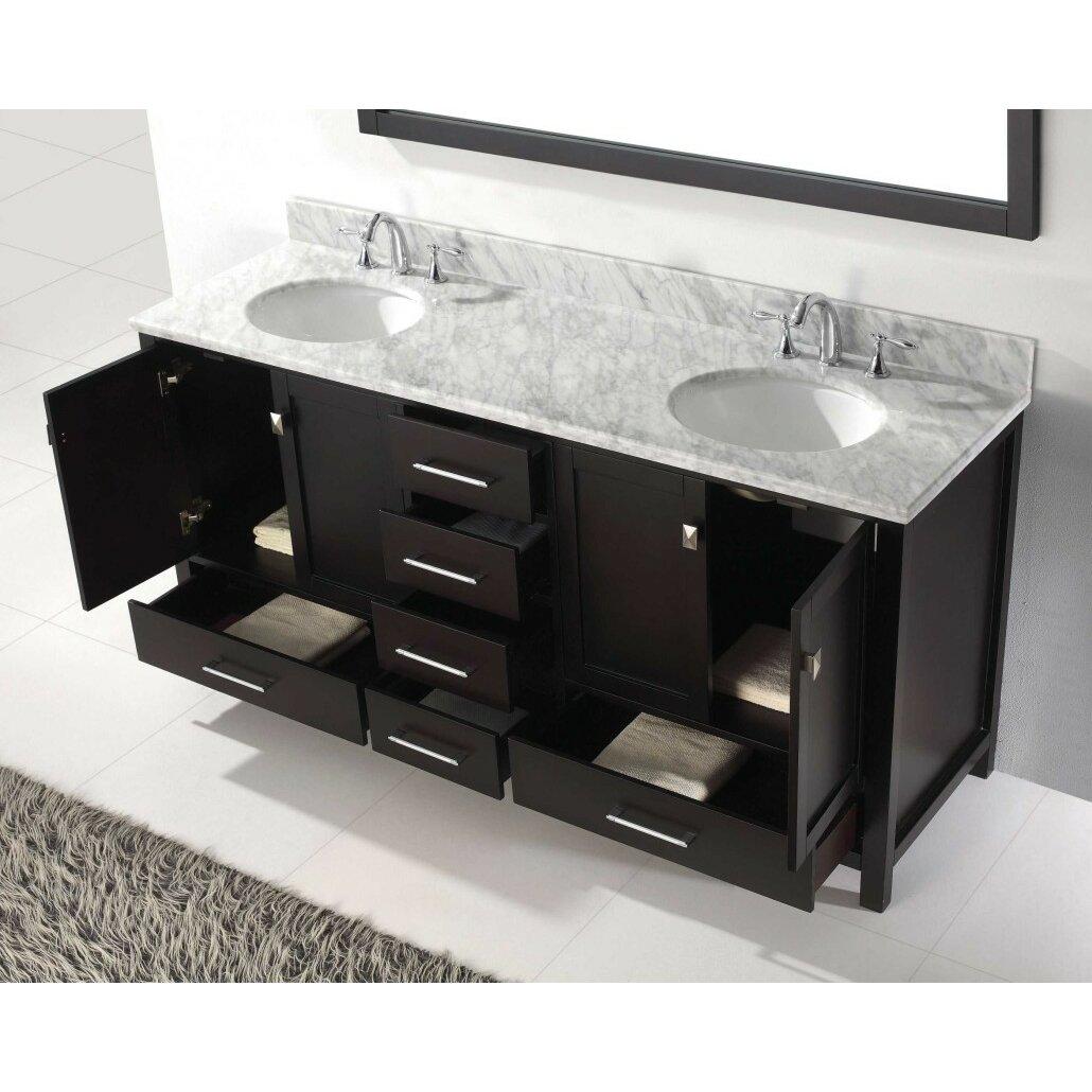 Virtu Caroline Avenue 72 Bathroom Vanity Base Reviews Wayfair
