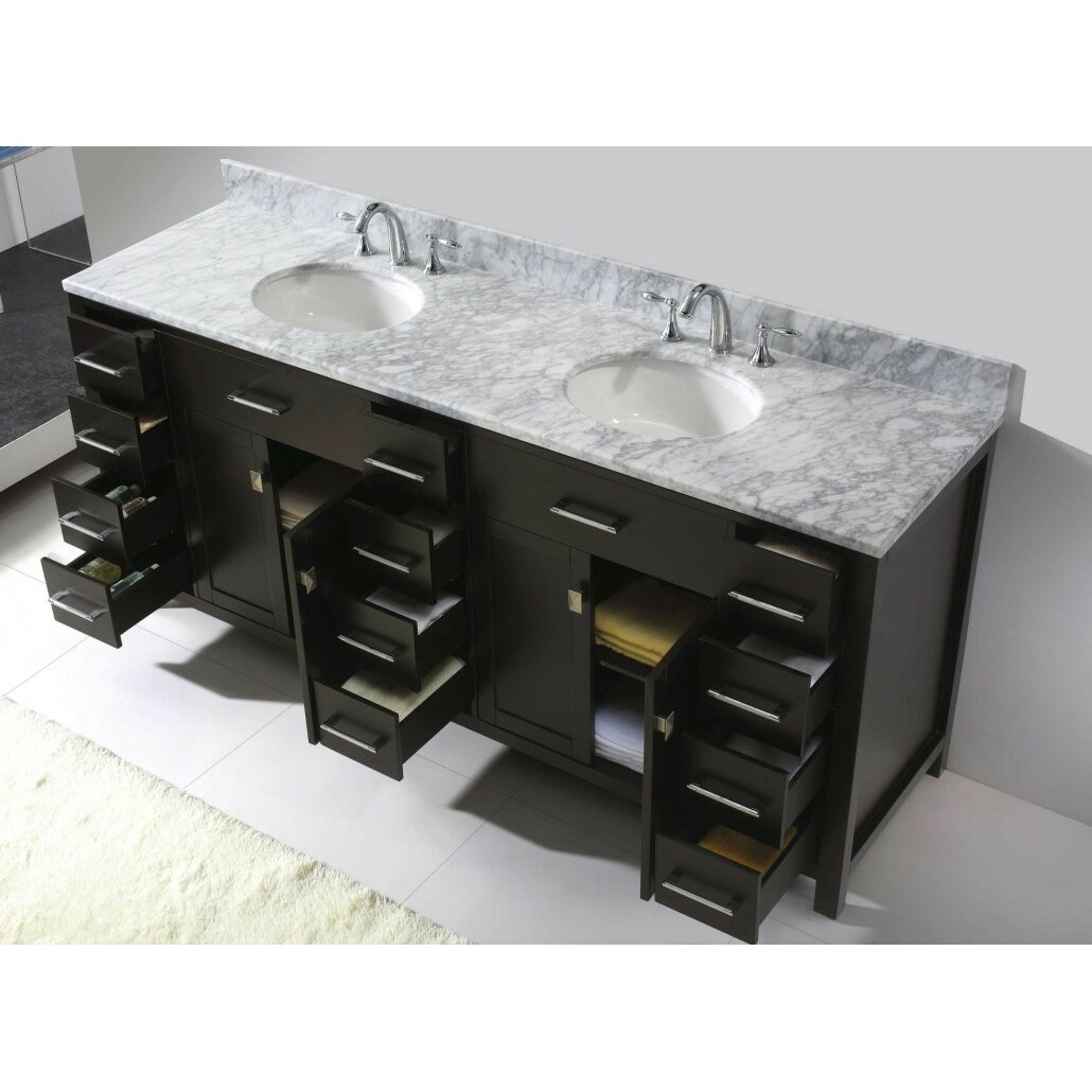 virtu caroline parkway 78 bathroom vanity