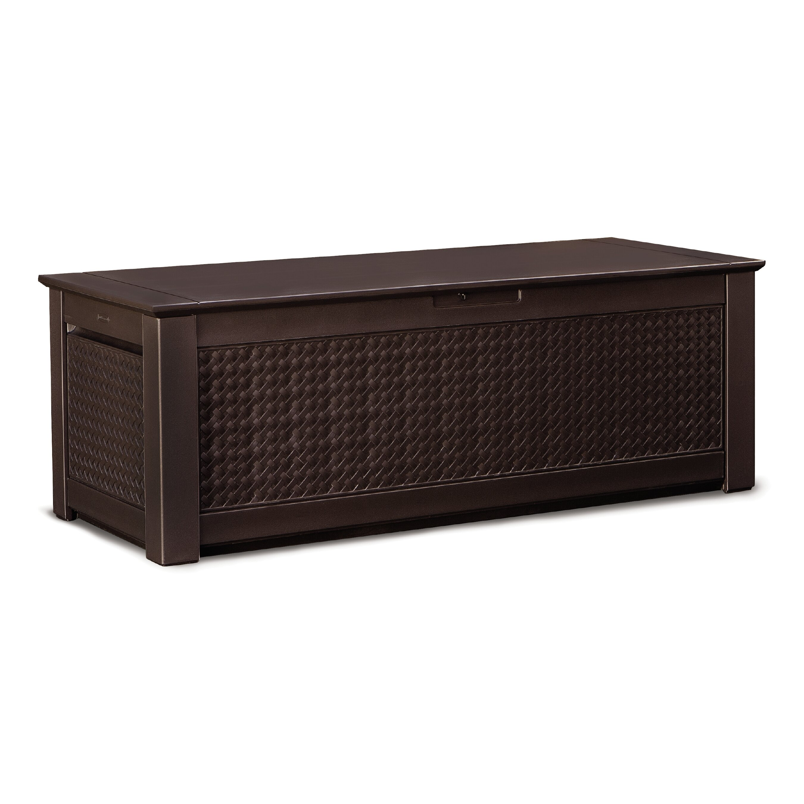 Rubbermaid Patio Chic Deck Box Amp Reviews Wayfair