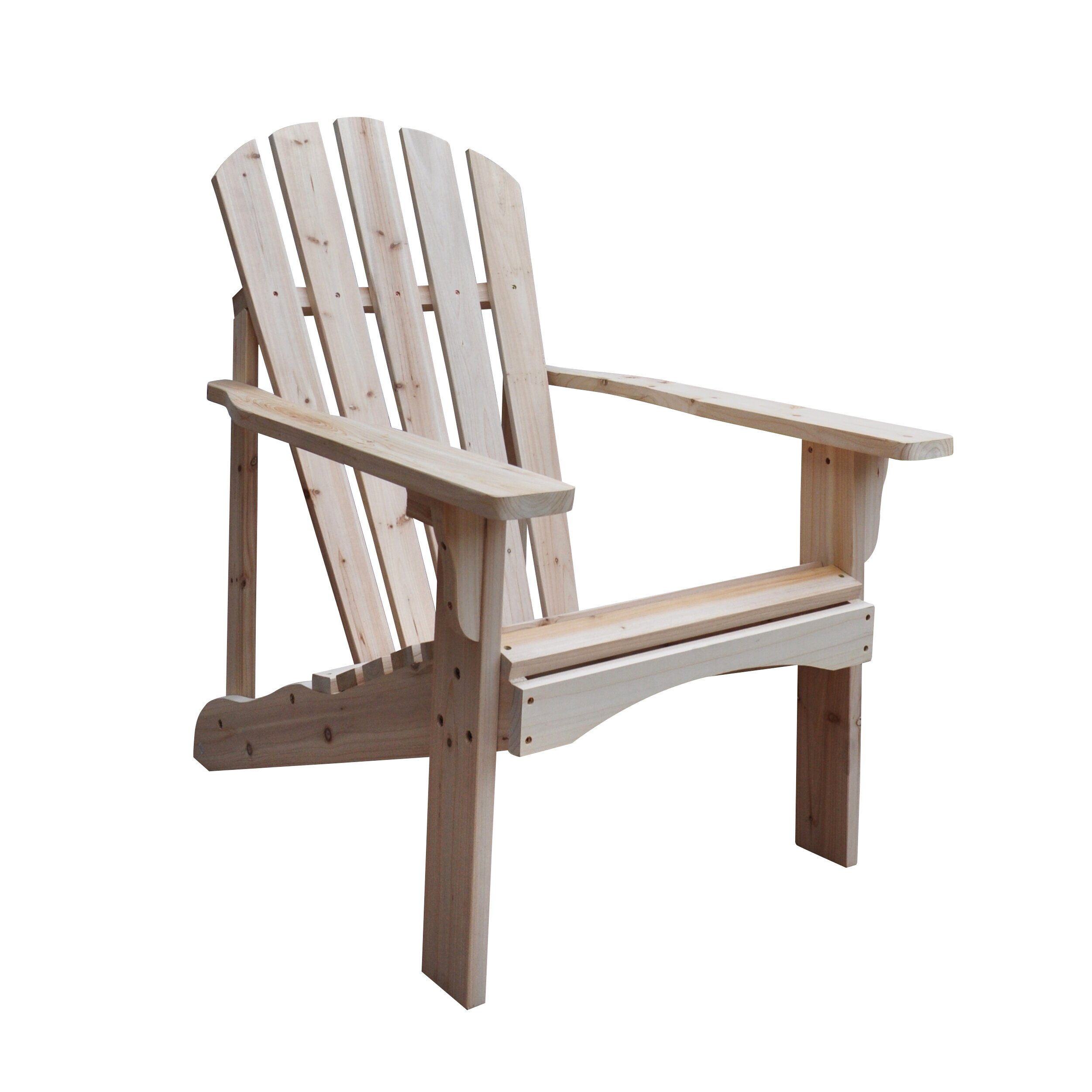Amazing photo of Shine Company Inc. Rockport Adirondack Chair & Reviews Wayfair with #4E3328 color and 2502x2502 pixels