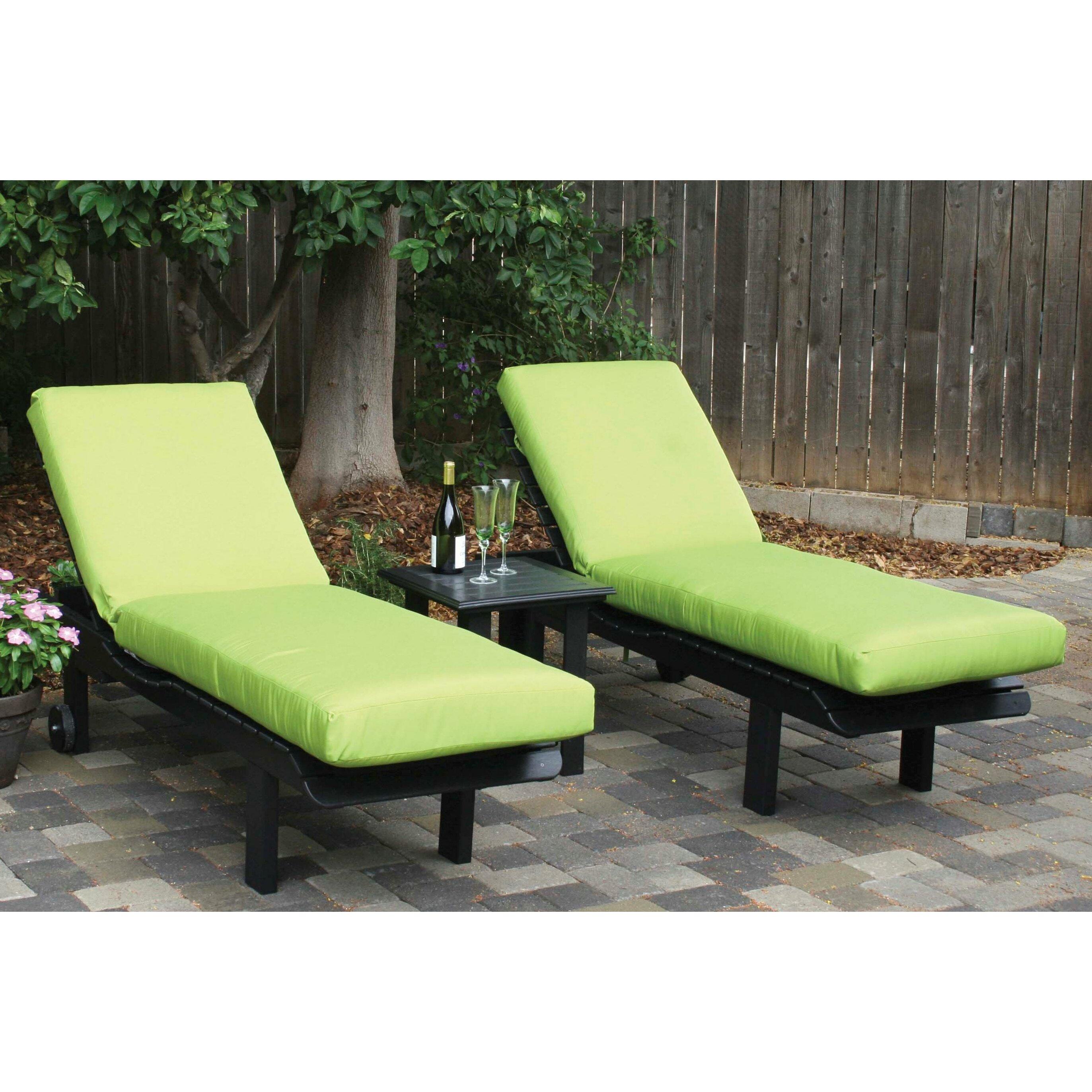 Eagle e Avalon Outdoor Sunbrella Chaise Lounge Cushion