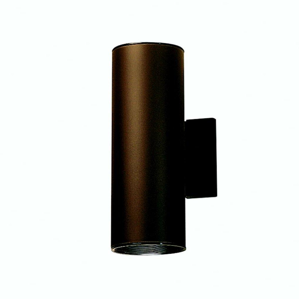 Kichler cans and bullets 2 light outdoor sconce reviews for Bullet landscape lights