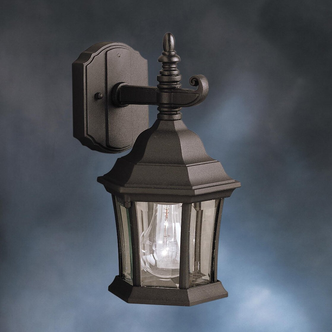 Kichler Landscape Lighting Reviews : Kichler townhouse light outdoor wall lantern reviews