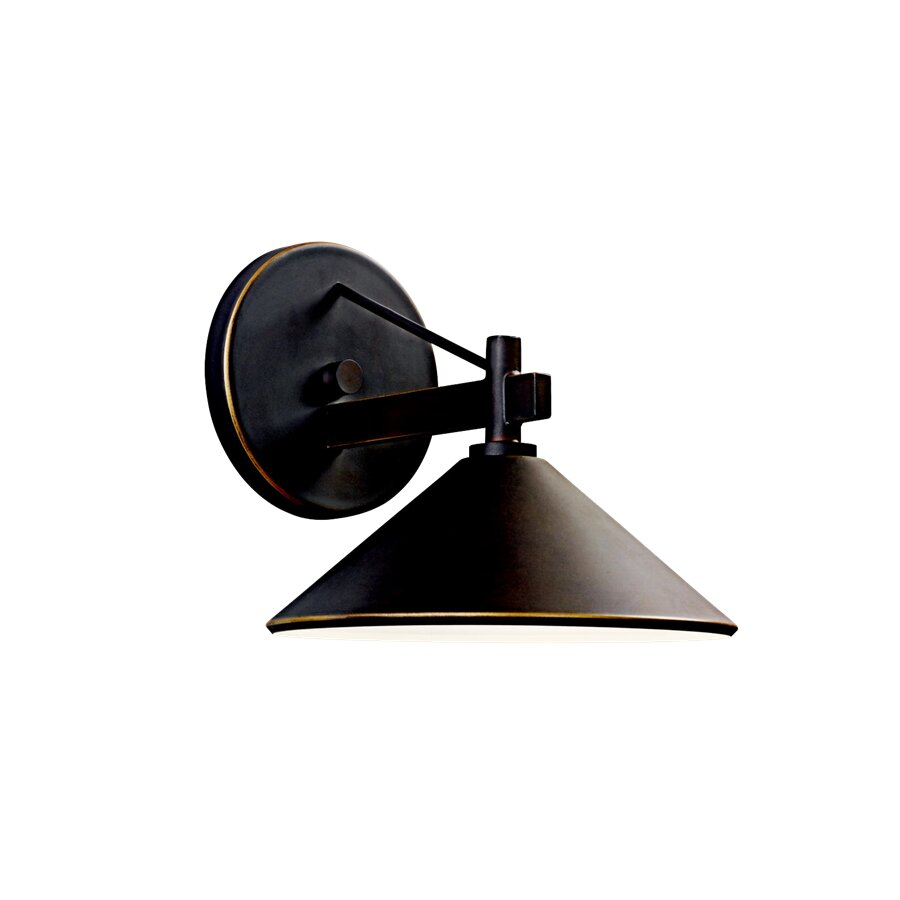 Kichler Landscape Lighting Reviews : Kichler ripley light outdoor sconce reviews wayfair