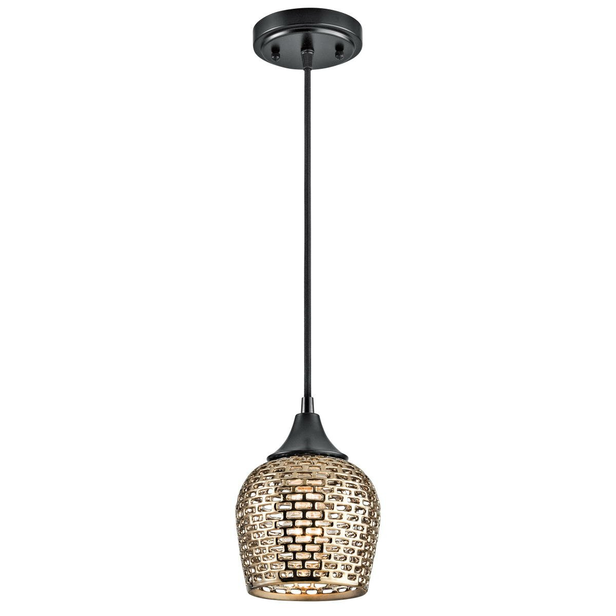 Kichler Annata 1 Light Mini Pendant Amp Reviews Wayfair