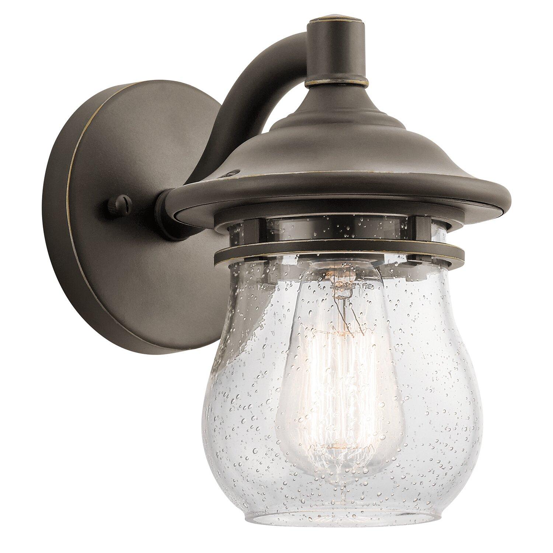 Kichler Landscape Lighting Reviews : Kichler light outdoor sconce reviews wayfair
