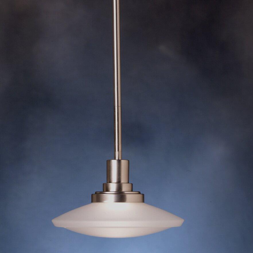 Kichler structures 1 light mini pendant reviews wayfair for Kichler kitchen pendant lighting