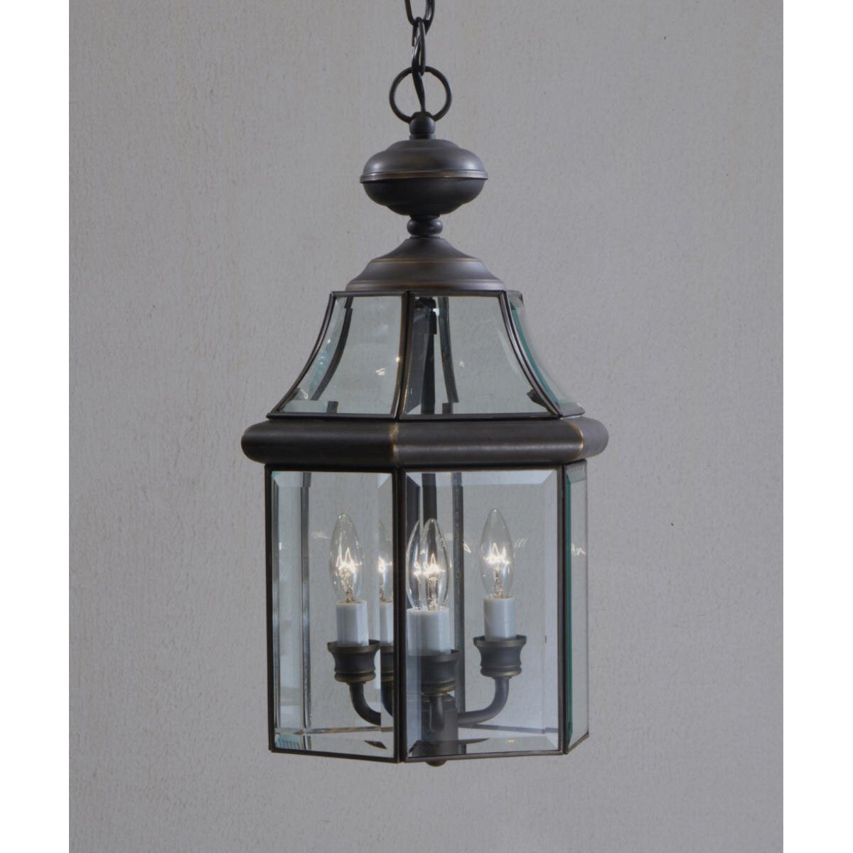 Kichler Embassy Row 3 Light Outdoor Hanging Lantern Reviews Wayfair