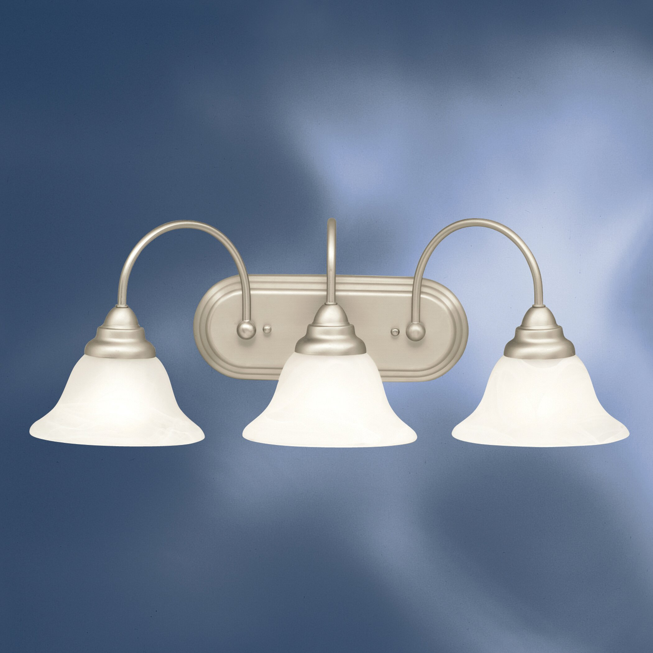 Vanity Lights Kichler : Kichler Telford 3 Light Vanity Light & Reviews Wayfair