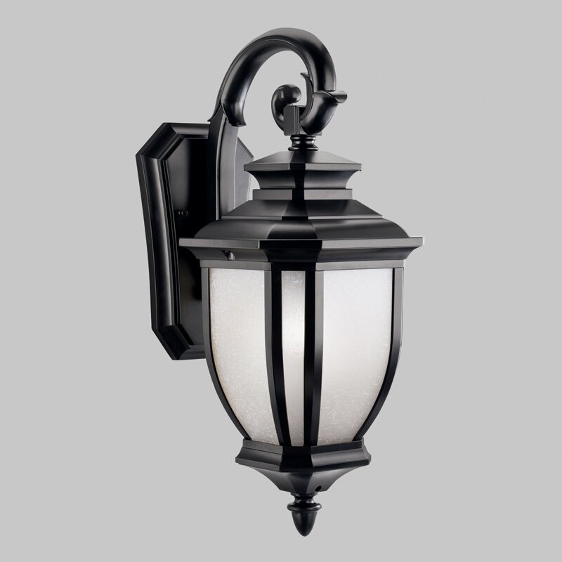 Kichler Landscape Lighting Reviews : Kichler salisbury light outdoor wall lantern reviews