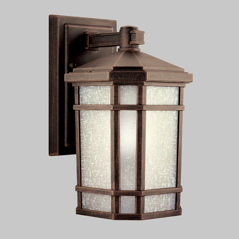 Kichler Landscape Lighting Reviews : Kichler cameron light outdoor wall lantern reviews