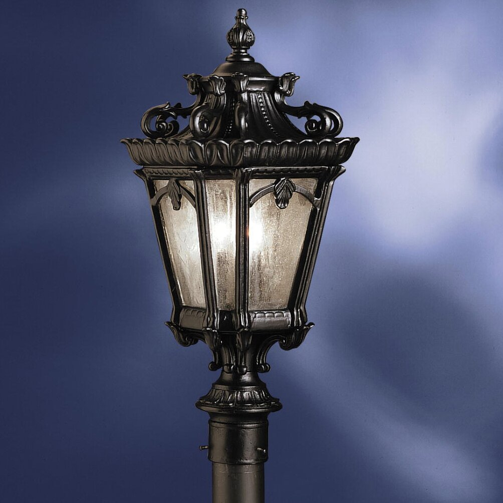 Ld Kichler: Kichler Tournai 3 Light Outdoor Post Light & Reviews