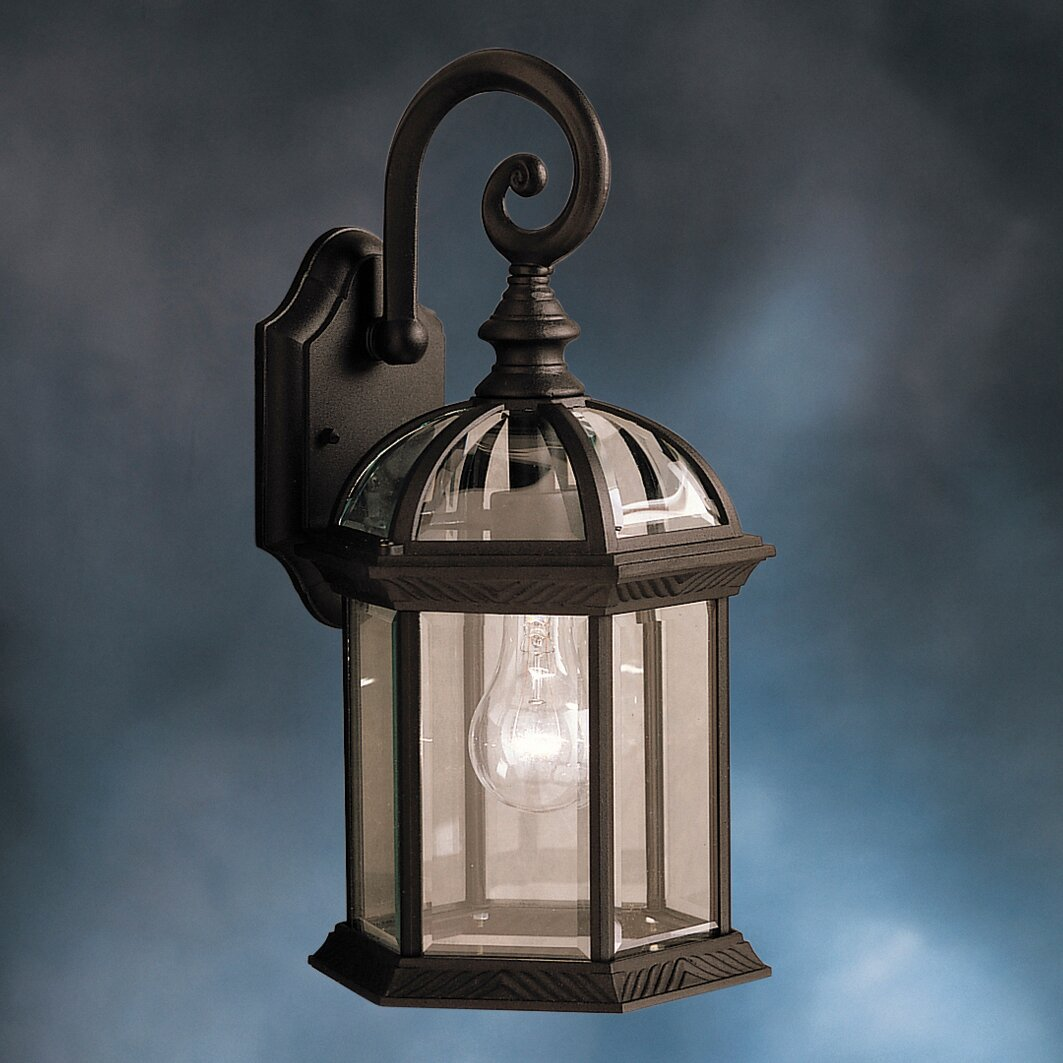 Kichler New Street 1 Light Outdoor Wall Lantern Reviews Wayfair
