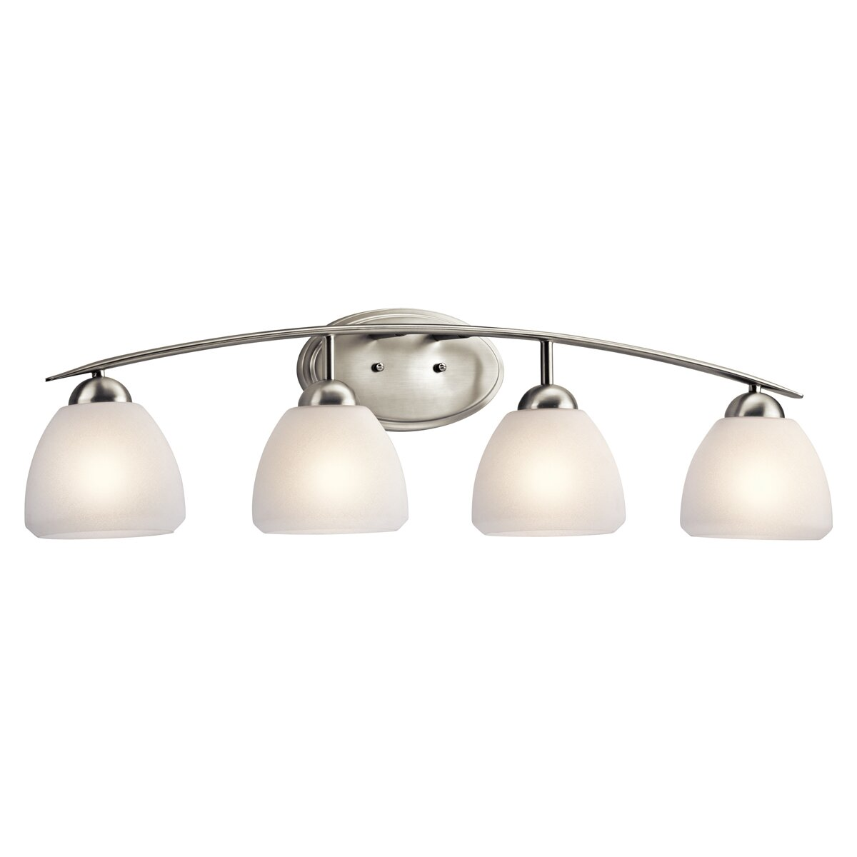 Kichler Caleigh 4 Light Vanity Light Reviews Wayfair