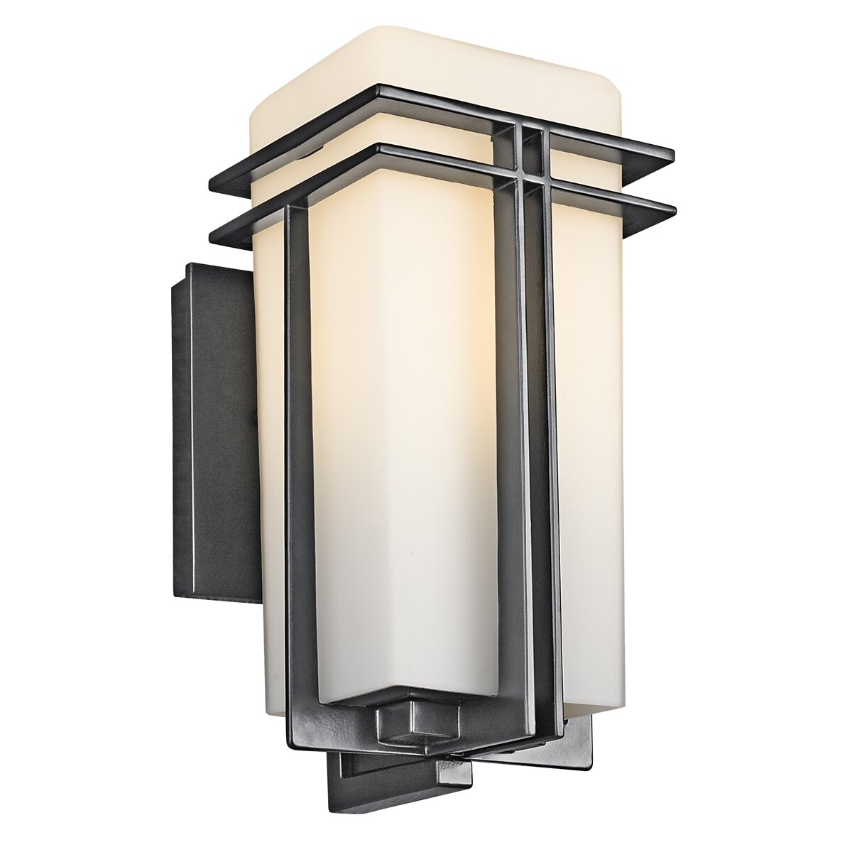 Kichler Tremillo 1 Light Outdoor Sconce Reviews Wayfair